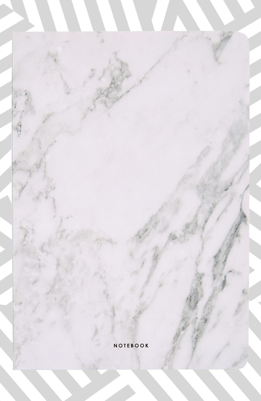 Main Image - Poketo 'Marble' Blank Notebook