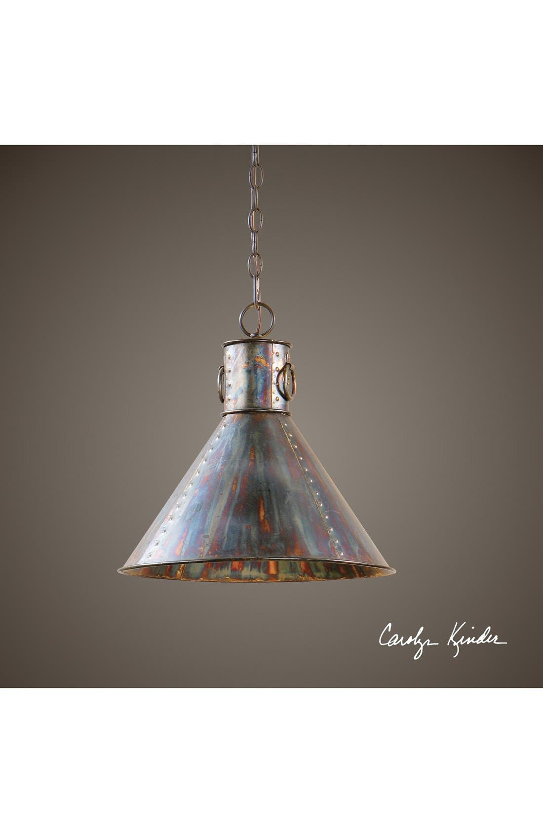 Alternate Image 2  - Uttermost 'Albiano Series - Levone' Oxidized Bronze Pendant Lamp