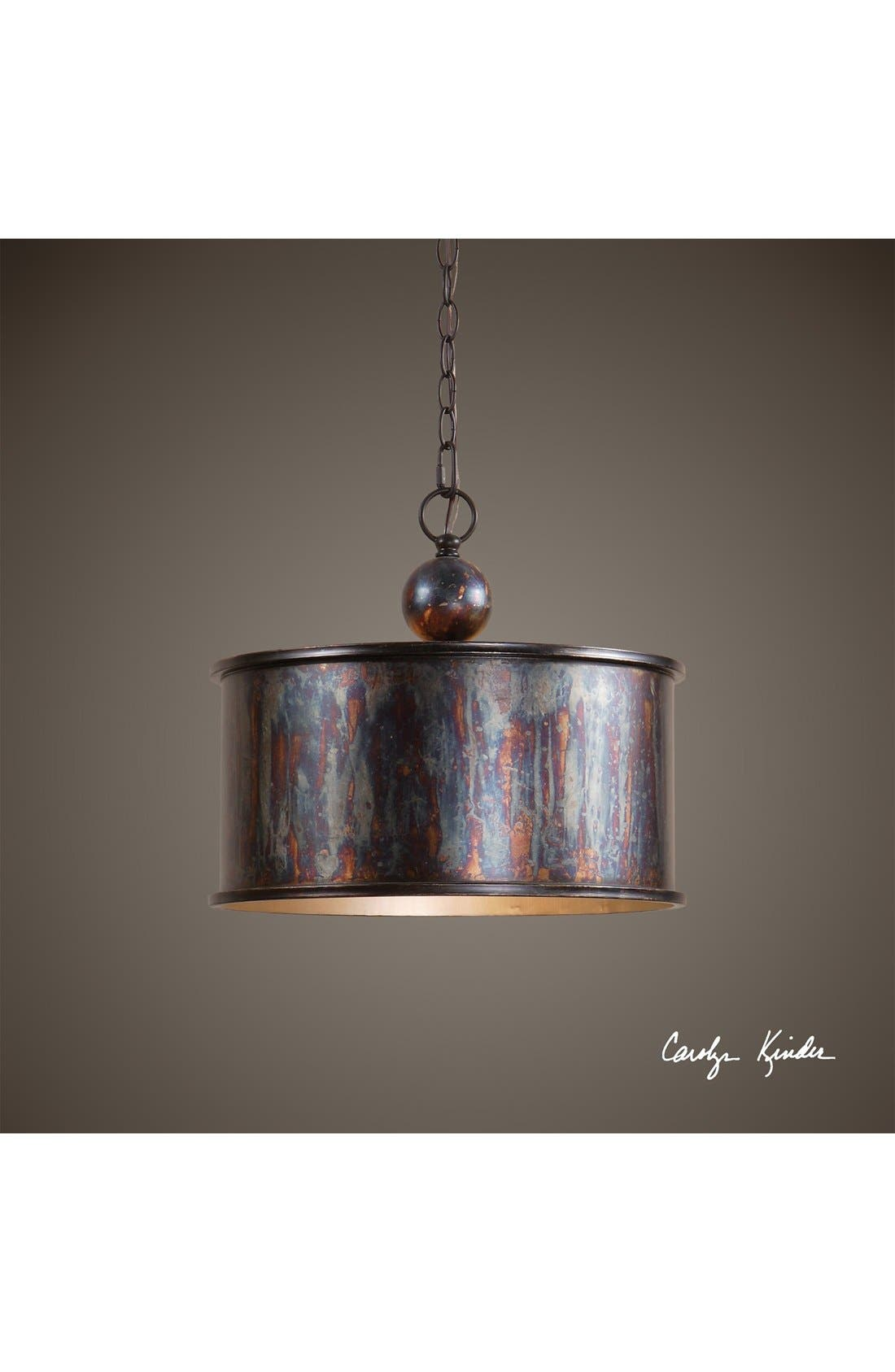 Alternate Image 2  - Uttermost 'Albiano' Bronzed Pendant Light