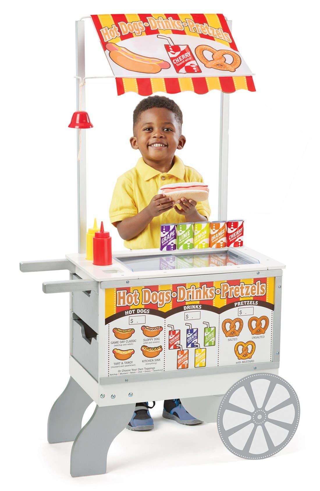Alternate Image 1 Selected - Melissa & Doug 'Snack & Sweets' Food Cart