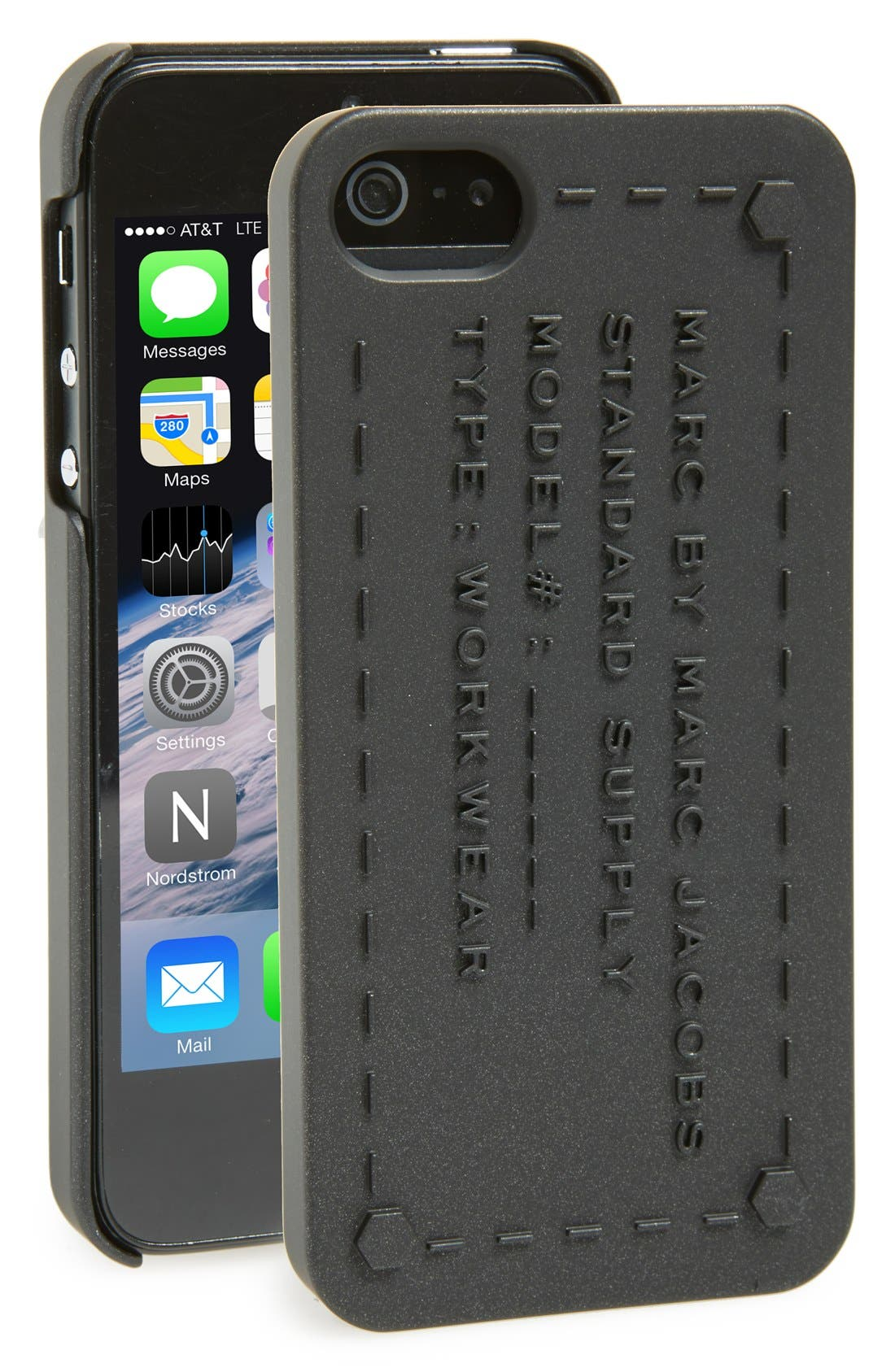 Main Image - MARC BY MARC JACOBS 'Standard Supply' iPhone 5 Case