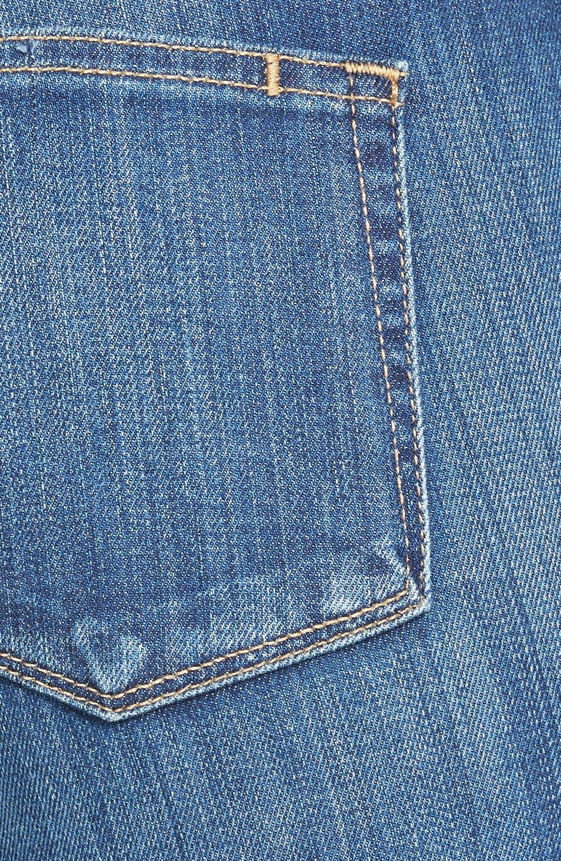 Alternate Image 3  - Paige Denim 'Hoxton' Ankle Jeans (Orson Blue)