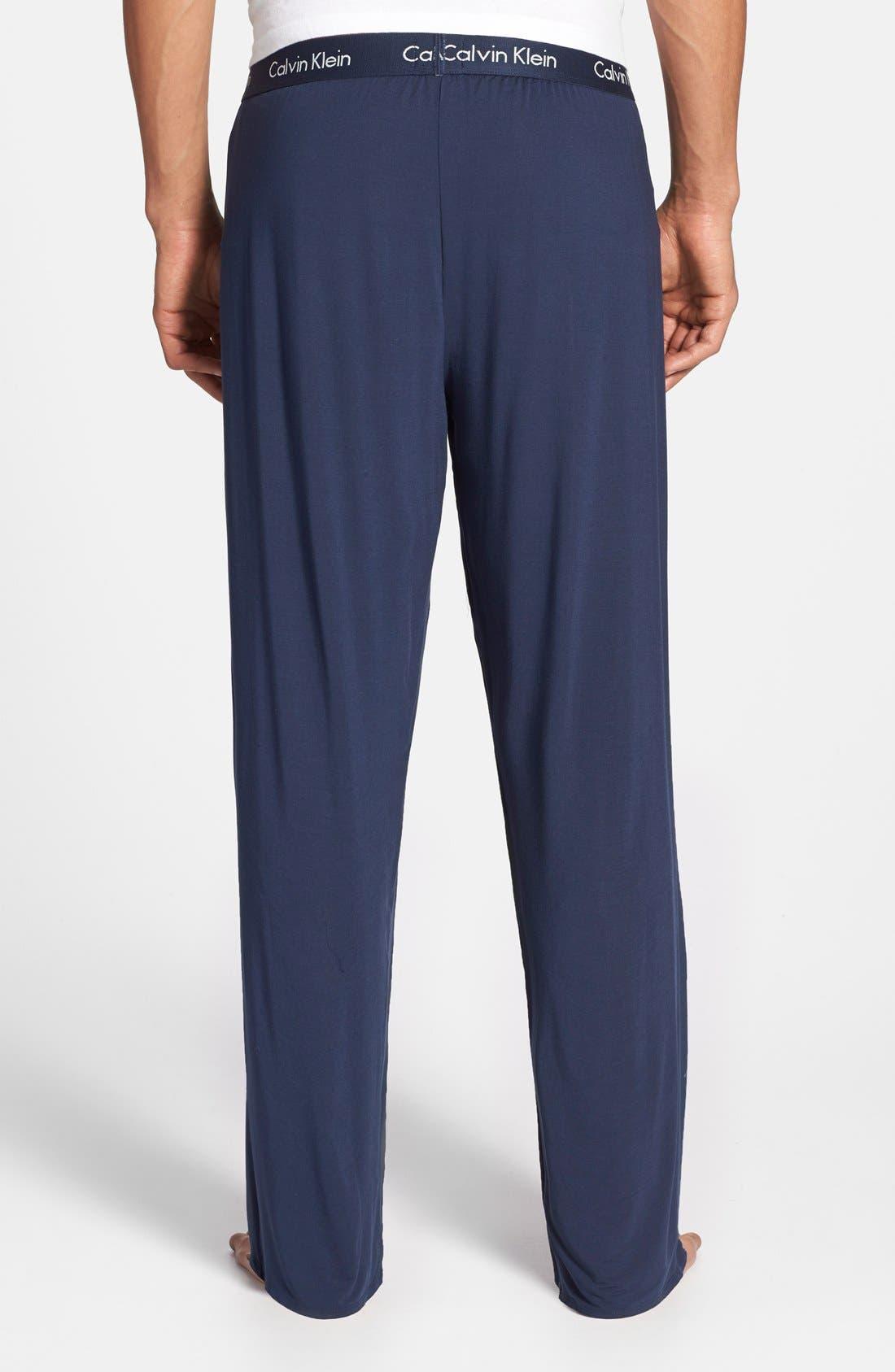 Alternate Image 2  - Calvin Klein 'U1143' Micromodal Lounge Pants