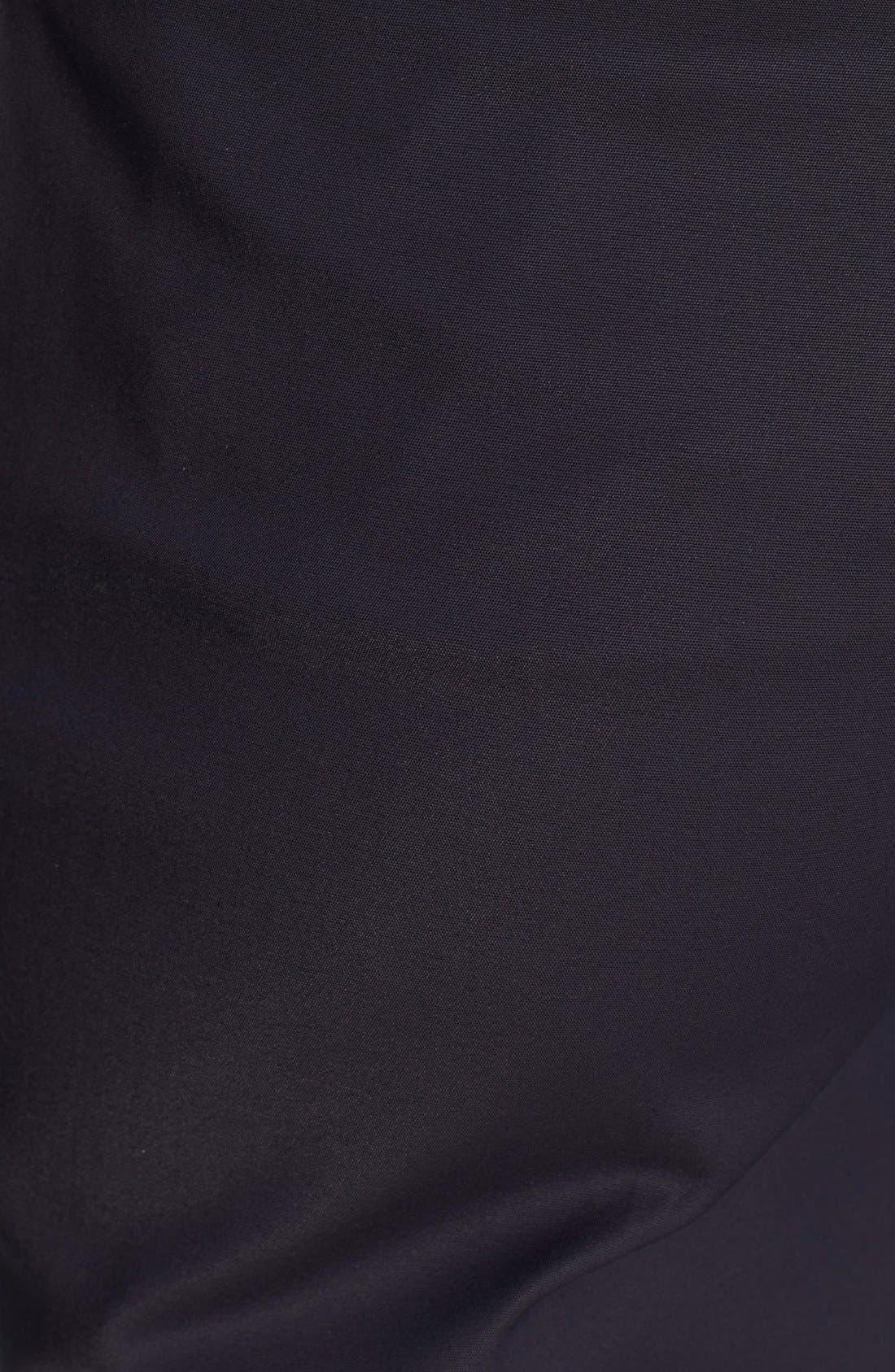'Franca' Techno Cotton Pants,                             Alternate thumbnail 8, color,                             Deep Navy