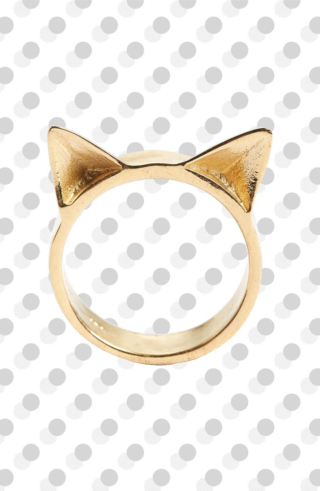 Alternate Image 1 Selected - Meadowlark Cat Ears Ring