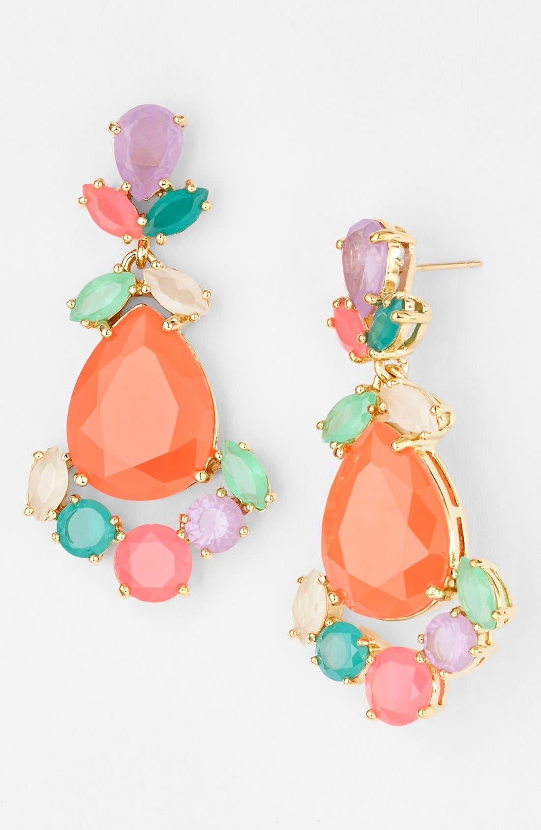 Alternate Image 1 Selected - kate spade new york stone drop earrings