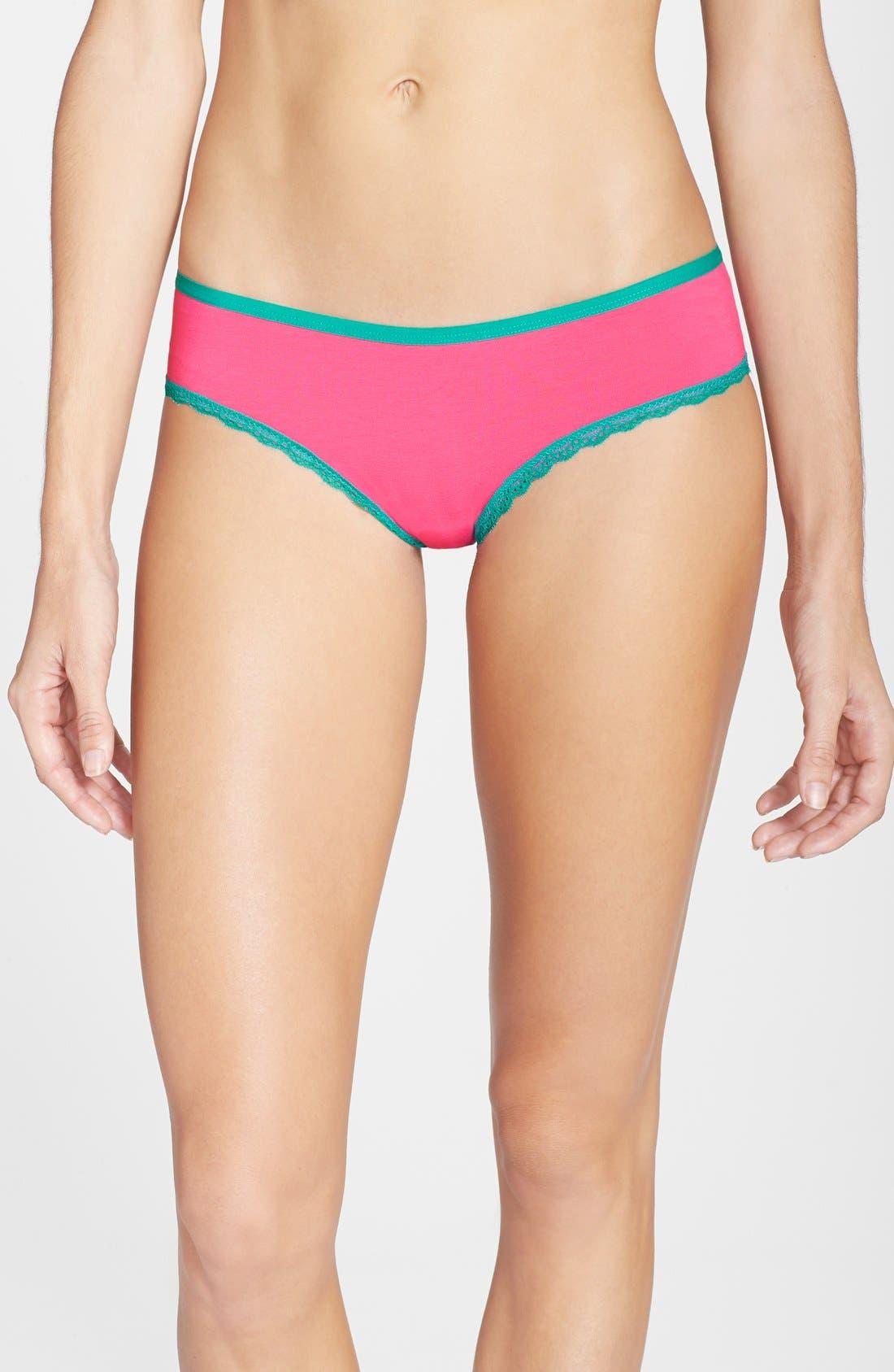 Alternate Image 1 Selected - h.dew 'Tessa' Cotton Bikini