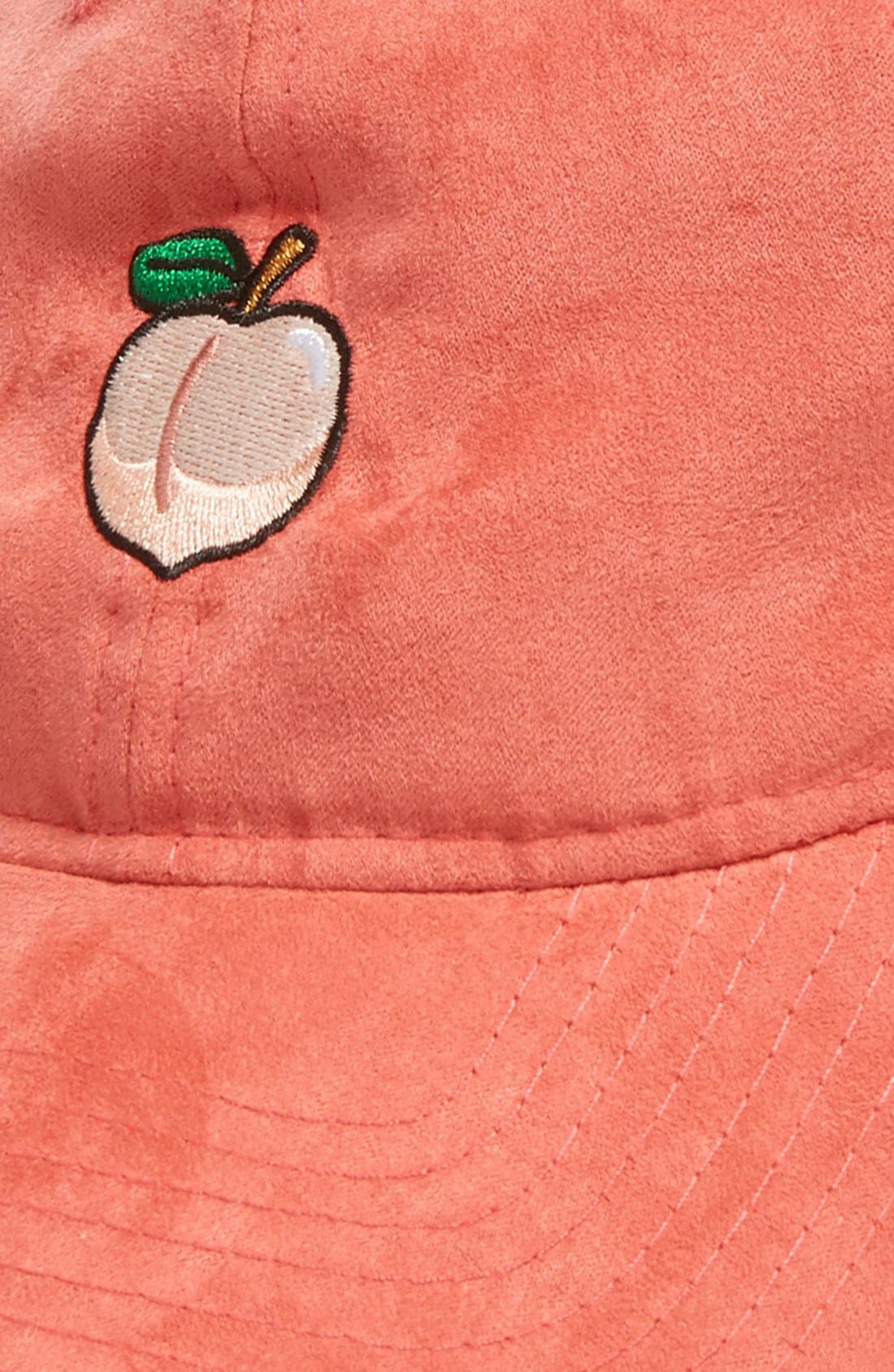 Alternate Image 3  - New Era Cap Peach Baseball Cap (Nordstrom Exclusive)
