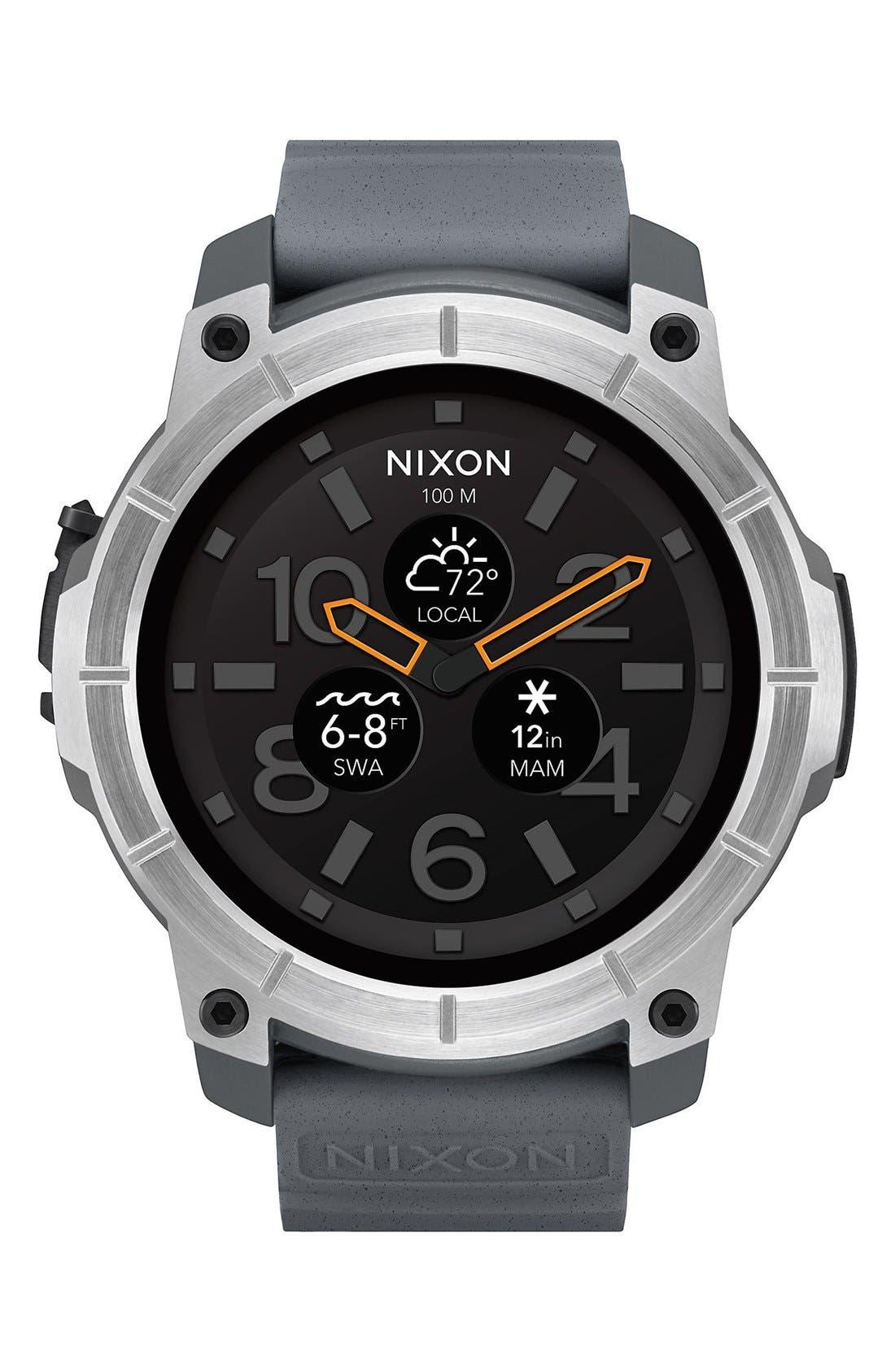 NIXON Mission Ana-Digi Smart Watch, 48mm