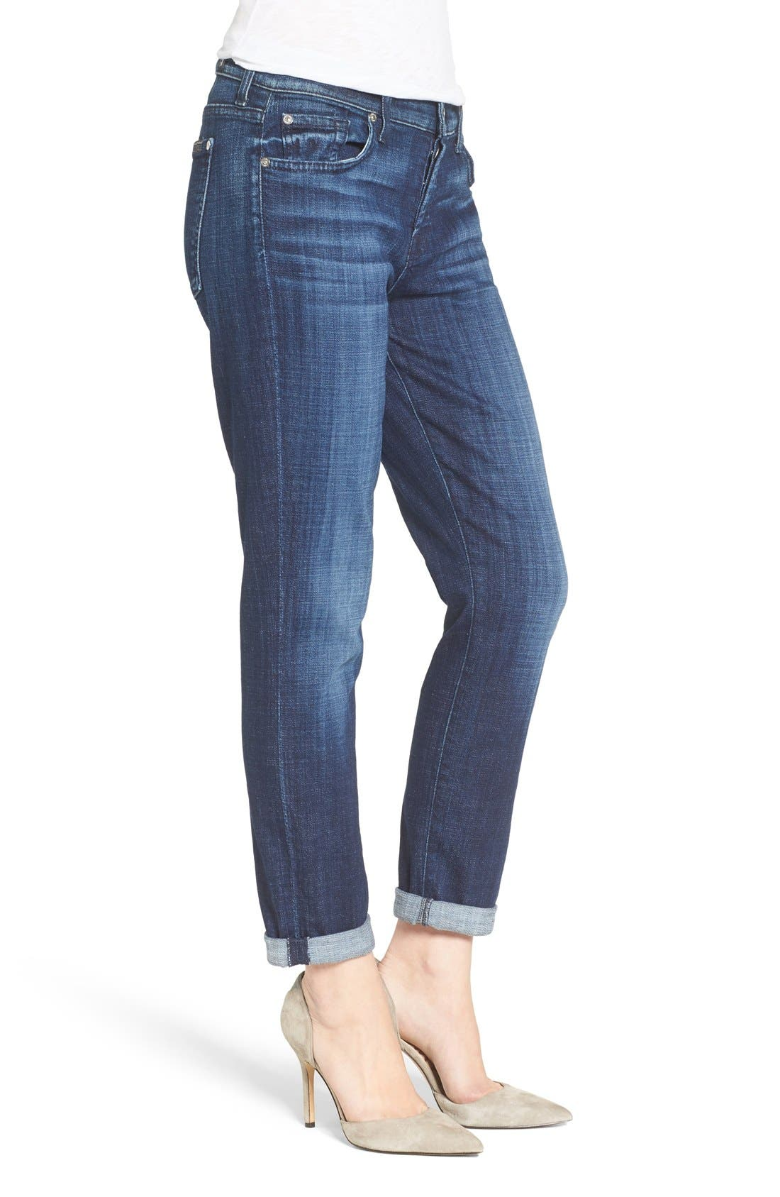 Alternate Image 3  - 7 For All Mankind® Josefina Boyfriend Jeans