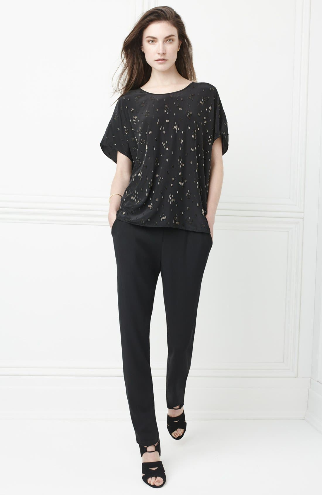 Alternate Image 6  - Eileen Fisher Silk Crepe Ankle Pants (Regular & Petite)