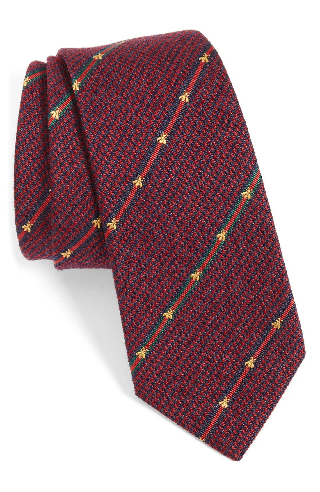 Gucci Savanur Silk & Wool Tie