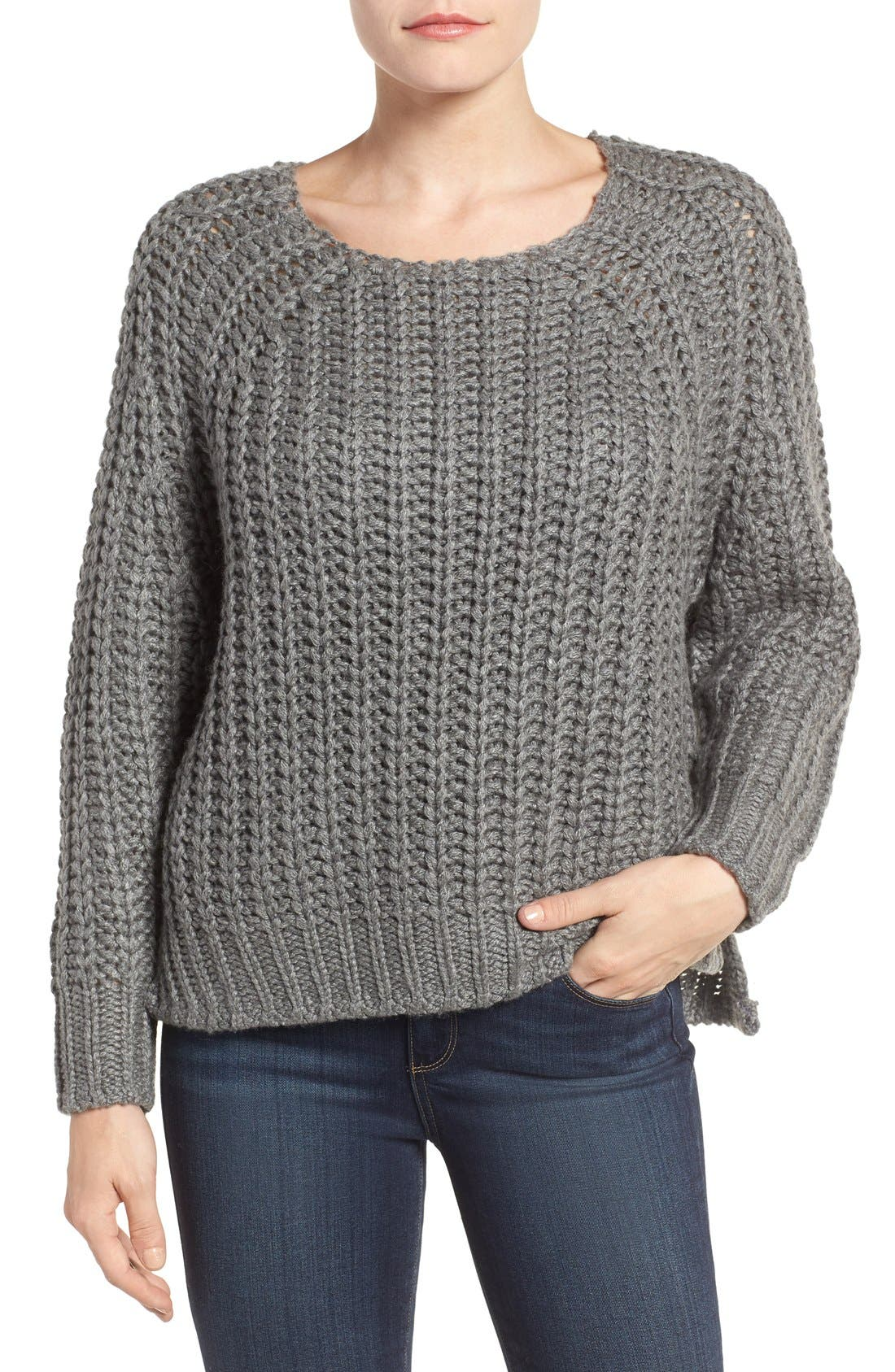 Page Sweater,                         Main,                         color, Grey