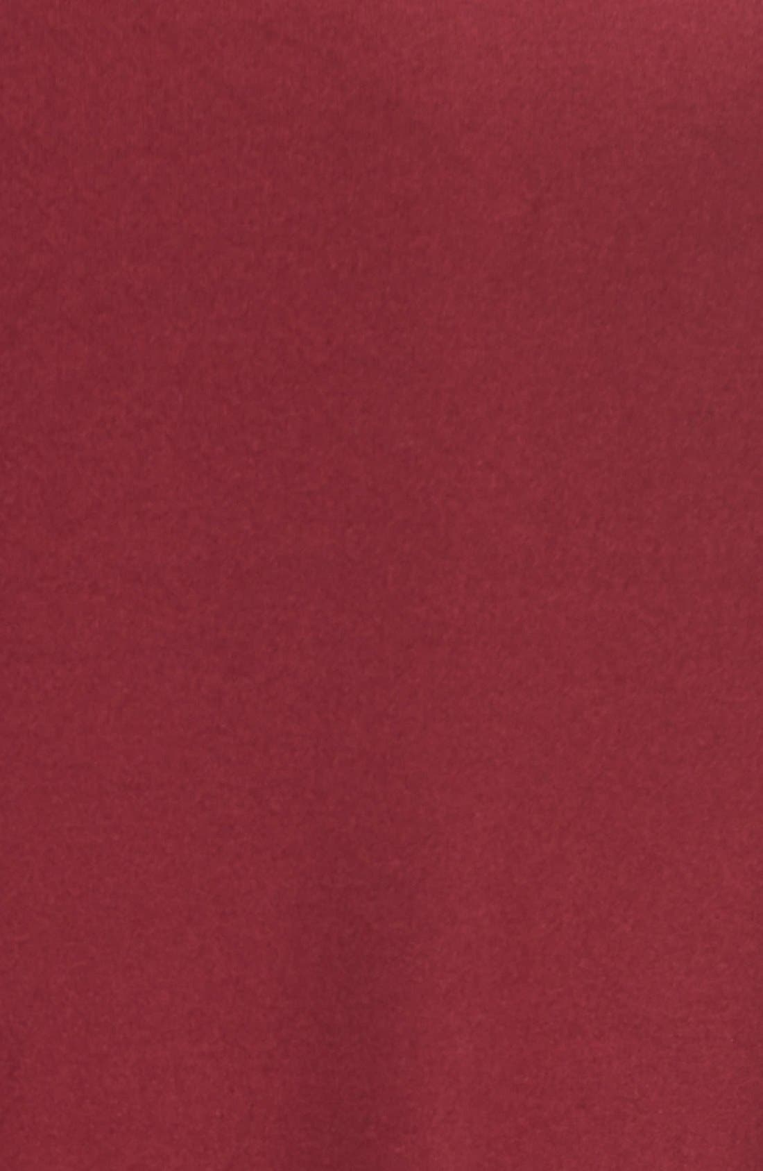 Butter High/Low Top,                             Alternate thumbnail 6, color,                             Burgundy