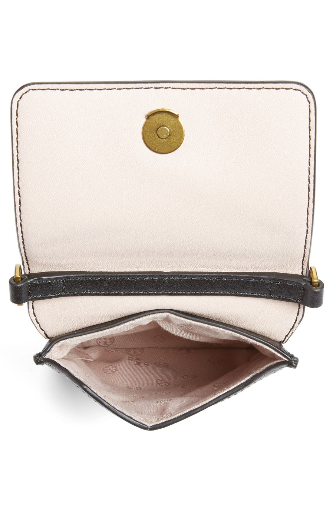 Alternate Image 3  - Tory Burch Perforated Leather Smartphone Crossbody Bag