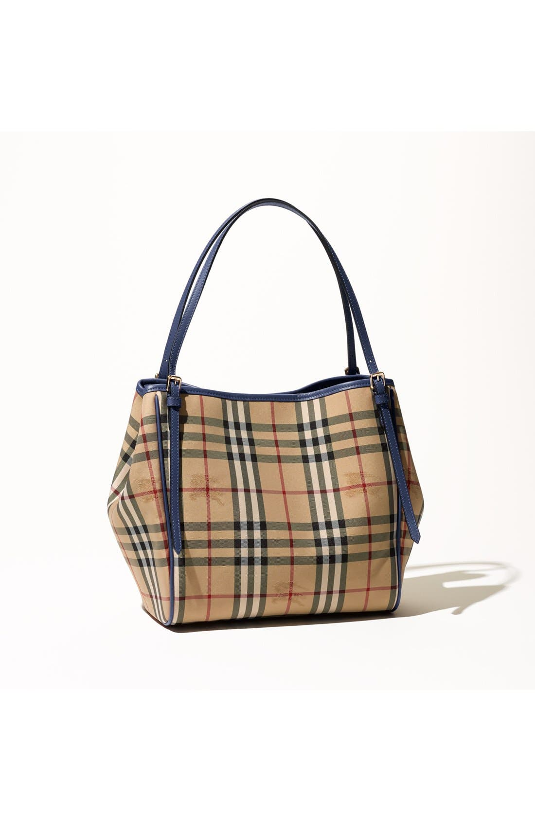 Alternate Image 8  - Burberry Small Canter Horseferry Check Tote