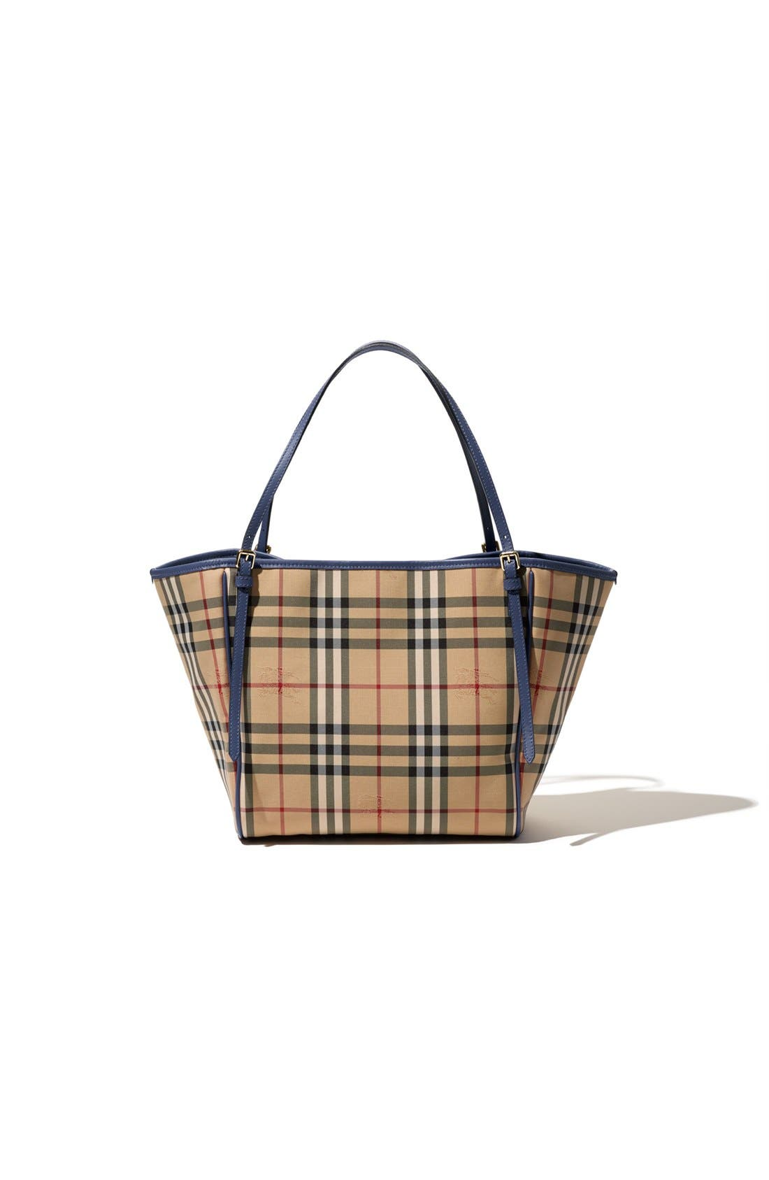Alternate Image 9  - Burberry Small Canter Horseferry Check Tote