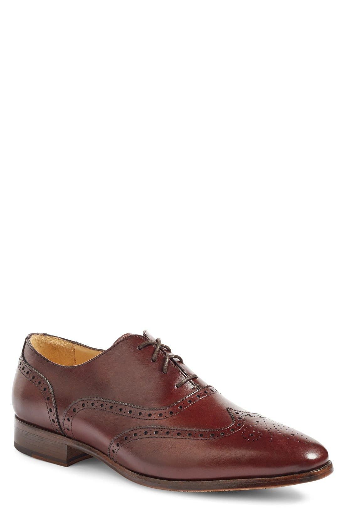 Alternate Image 1 Selected - Jack Erwin Adam Wingtip (Men)