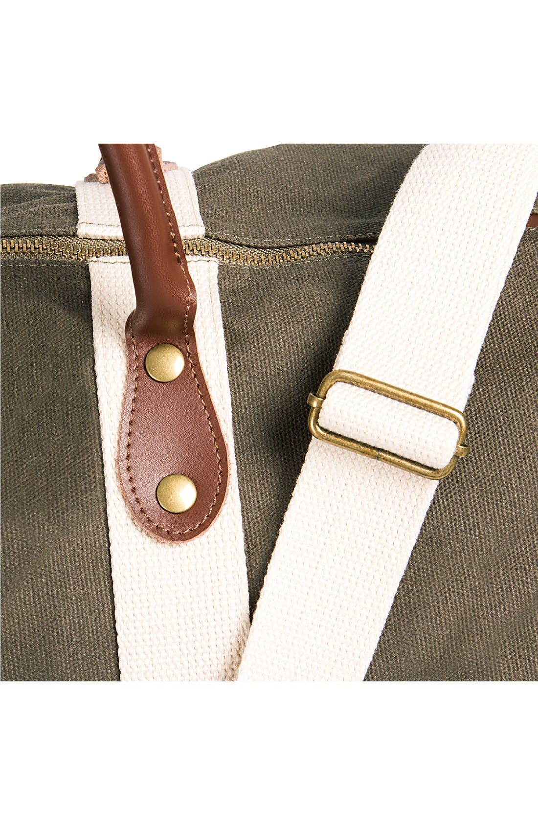 Alternate Image 4  - Cathy's Concepts Monogram Duffel Bag