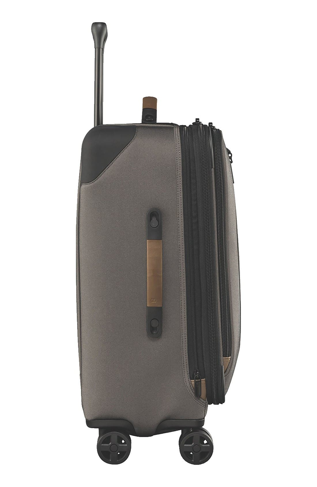 Lexicon 2.0 24-Inch Wheeled Suitcase,                             Alternate thumbnail 3, color,                             Grey
