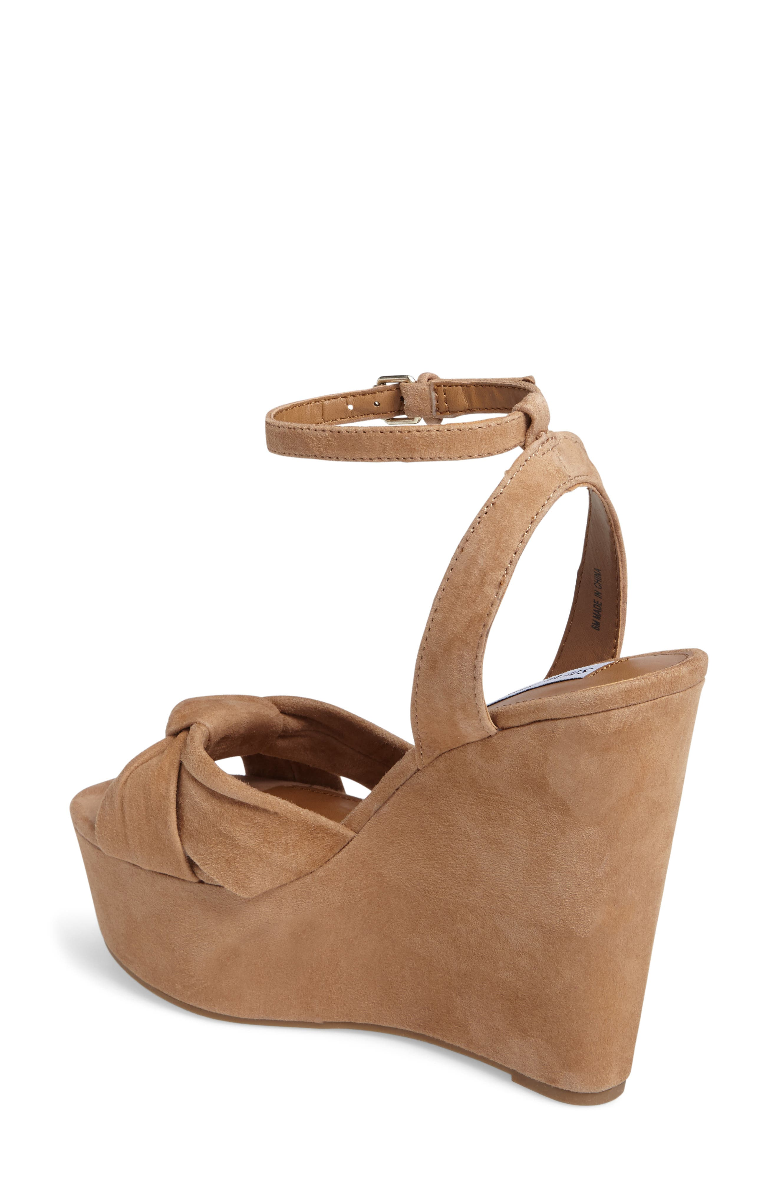 Alternate Image 2  - Steve Madden Tylie Platform Wedge Sandal (Women)
