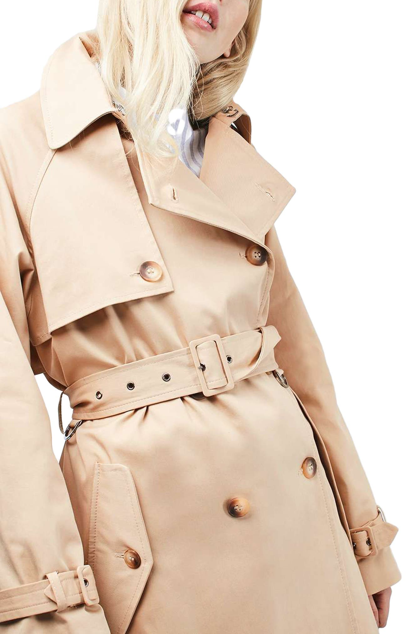 Alternate Image 1 Selected - Topshop Trench Coat