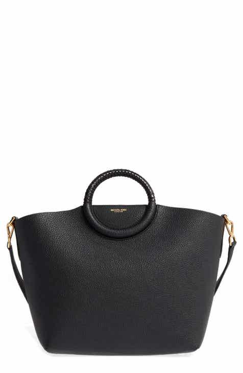 Michael Kors Skorpios Leather Market Bag