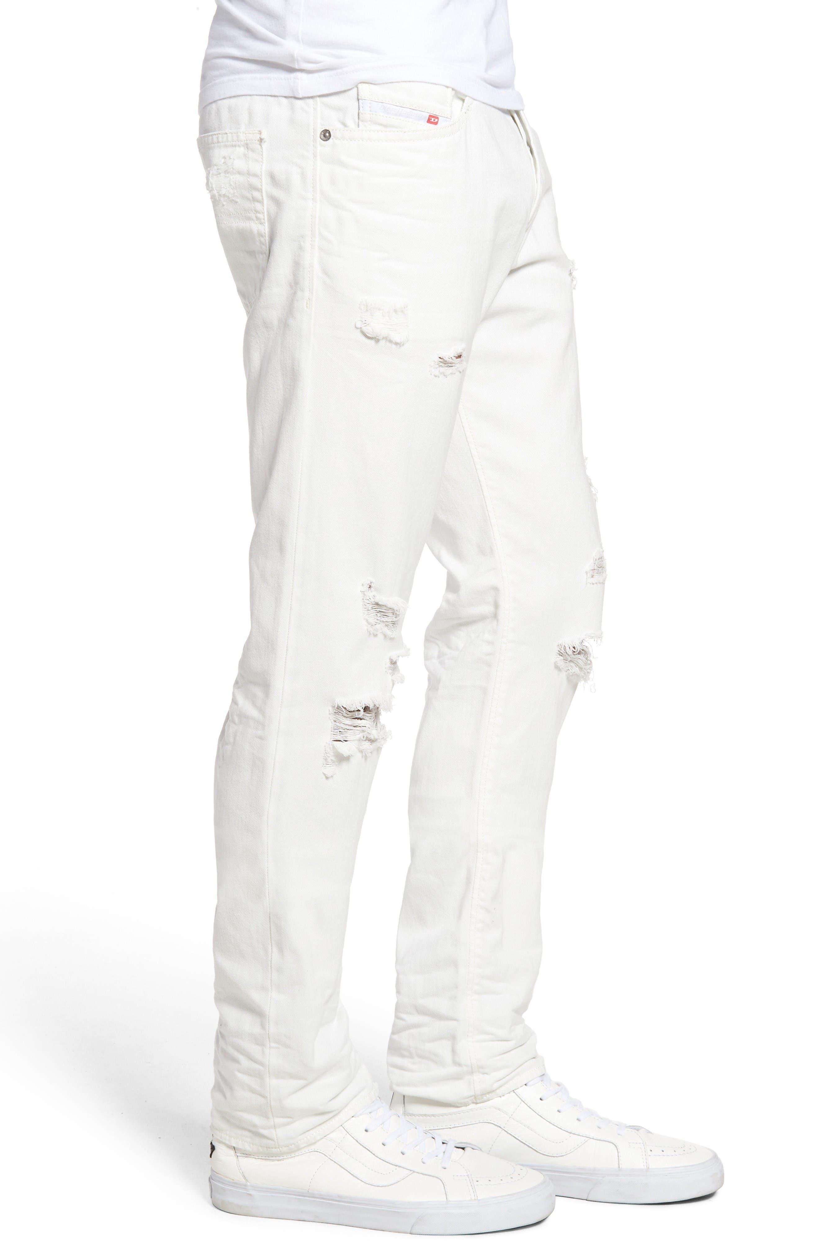 Alternate Image 3  - DIESEL® Buster Slim Straight Leg Jeans (680K)