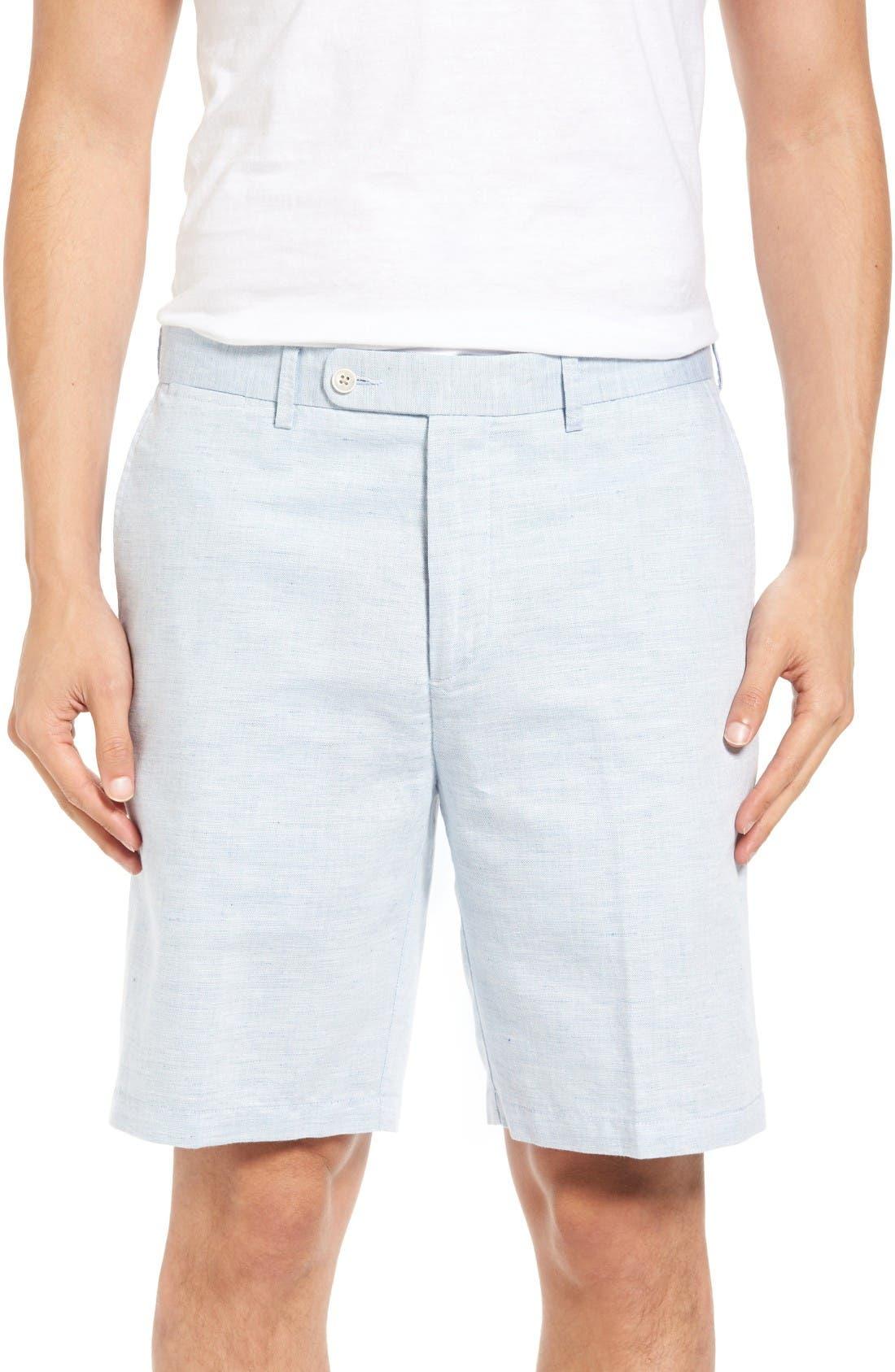 Peter Millar Carmel Linen Blend Shorts
