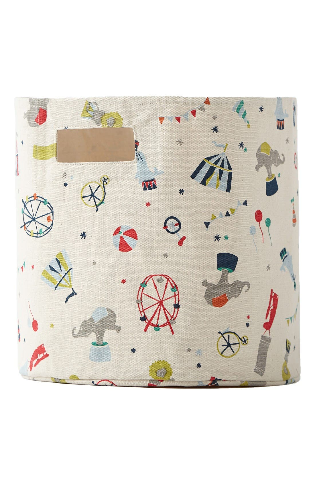 Big Top Canvas Print Bin,                         Main,                         color, Blue