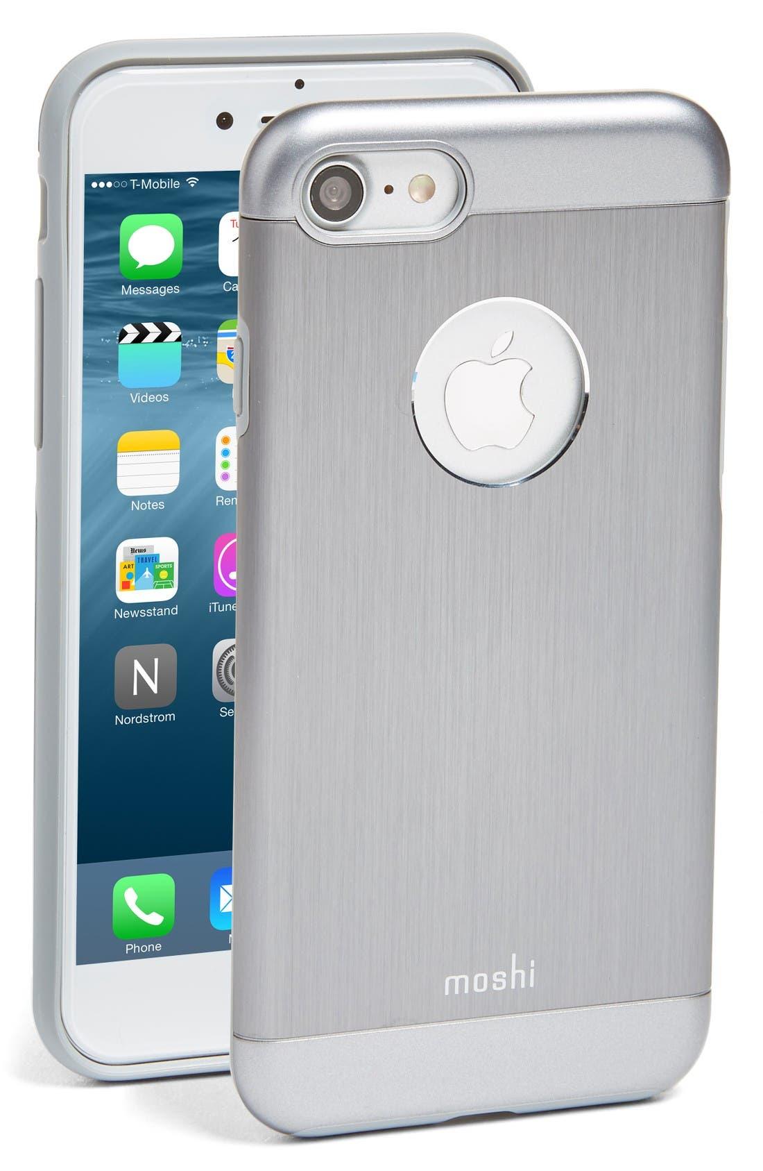 Alternate Image 1 Selected - Moshi iGlaze Armour iPhone 7/8 Case