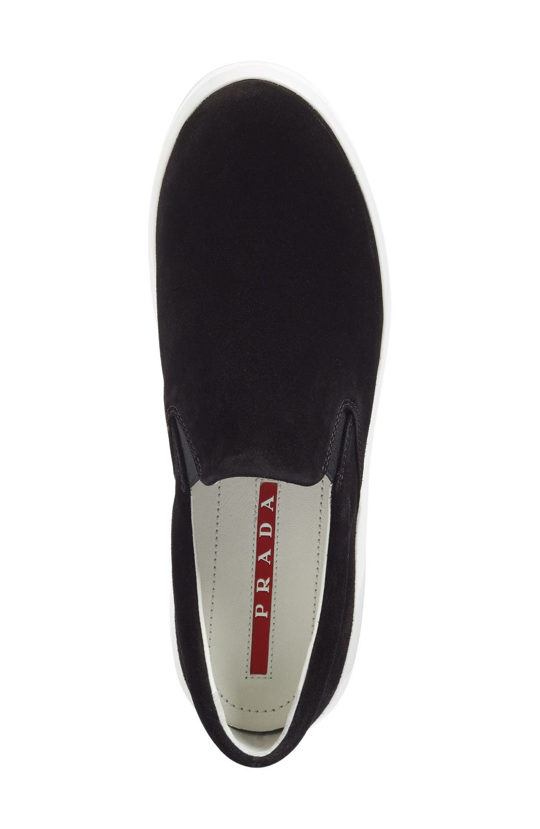 Alternate Image 3  - Prada Slip-On Sneaker (Women)