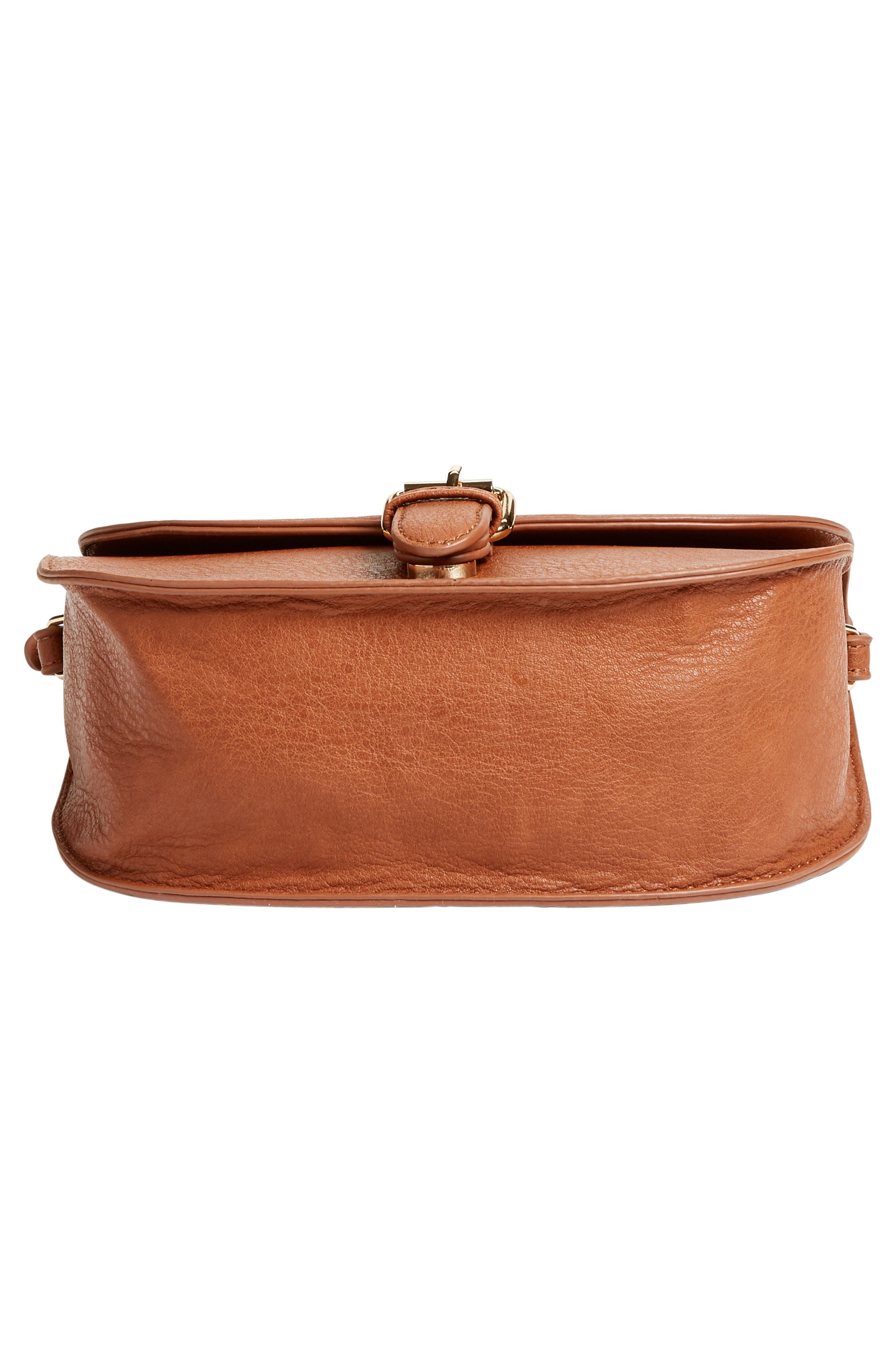 Alternate Image 6  - Emperia Faux Leather Saddle Bag (Special Purchase)