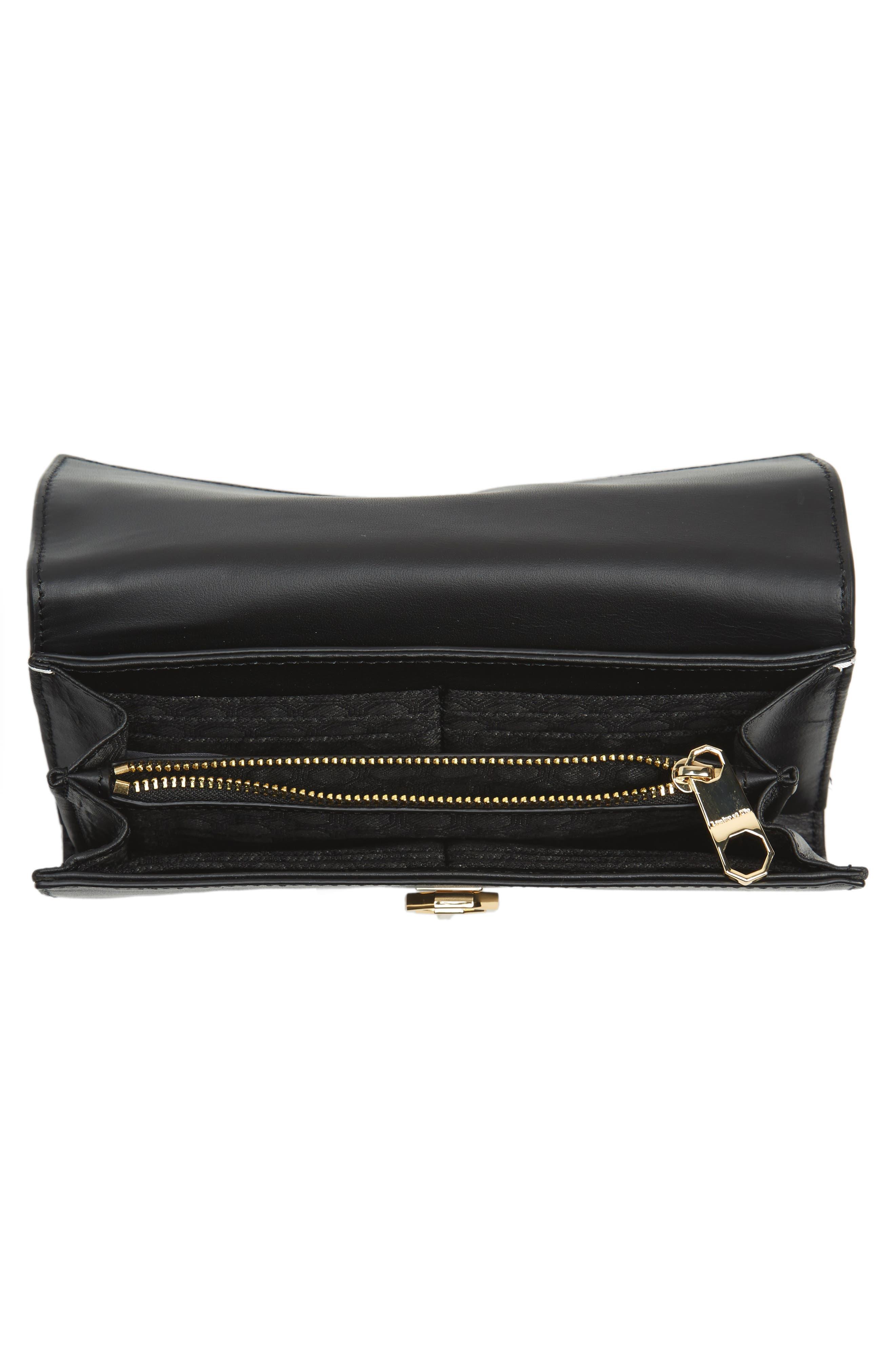Alternate Image 2  - Louise et Cie Yvette Embossed Leather Wallet