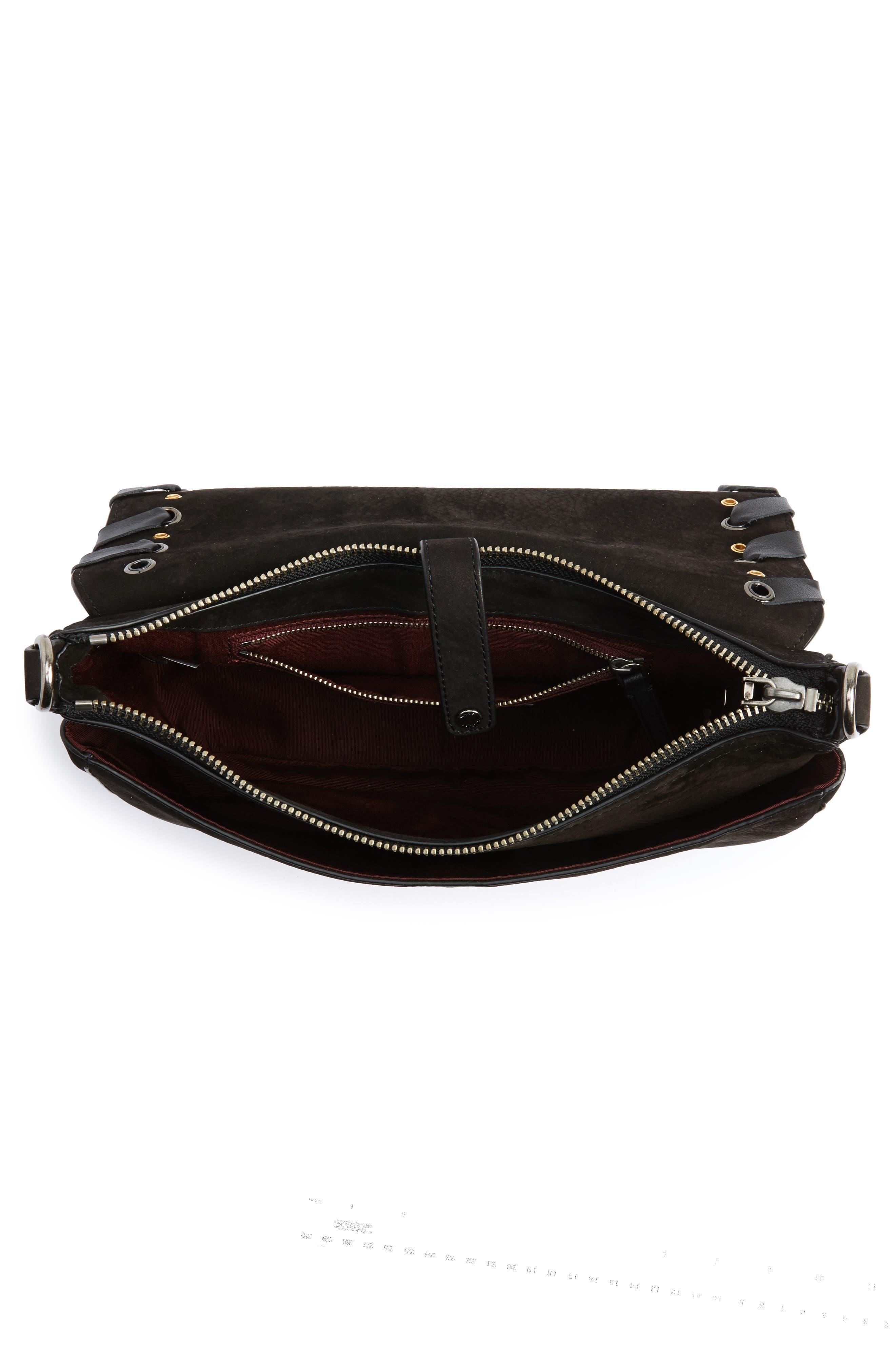 Alternate Image 3  - MARC JACOBS Courier Nubuck Leather Shoulder Bag