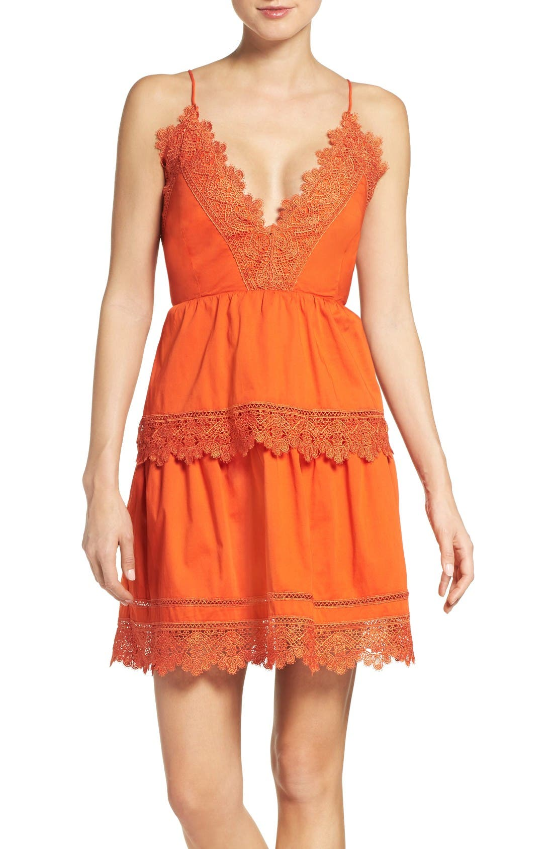 Bardot Sophia Peplum Dress