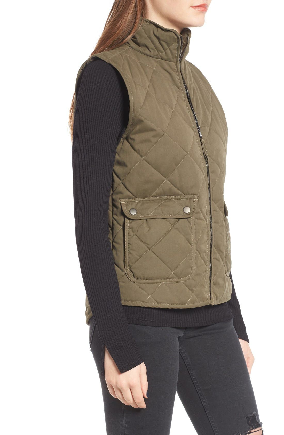 Alternate Image 3  - Thread & Supply Lancaster Quilted Vest