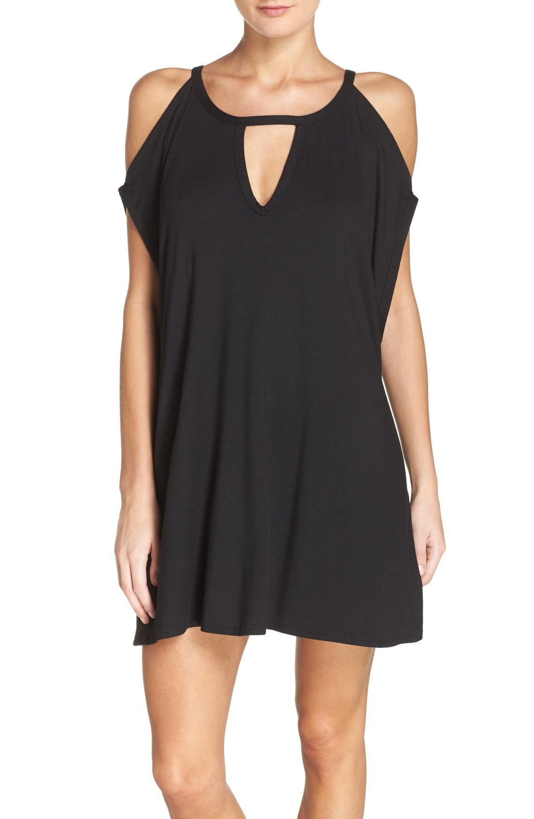 Main Image - Robin Piccone Cold Shoulder Cover-Up