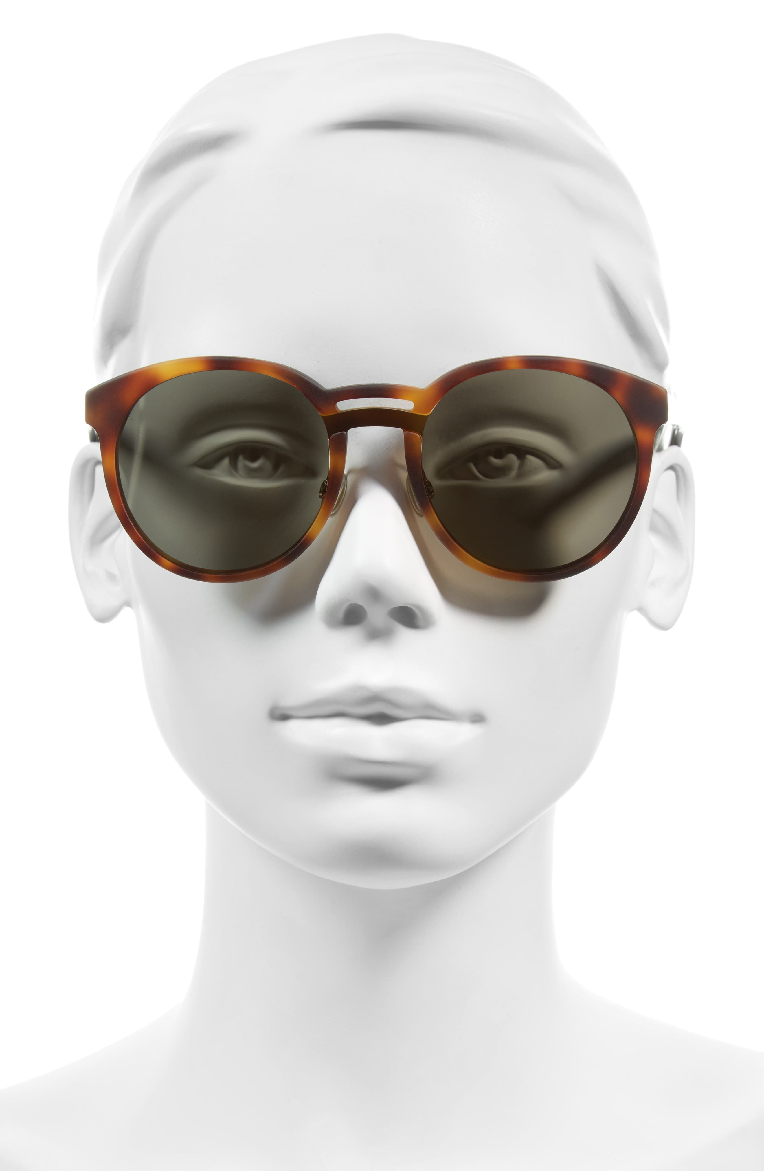 Alternate Image 2  - Dior Onde 1 50mm Round Sunglasses