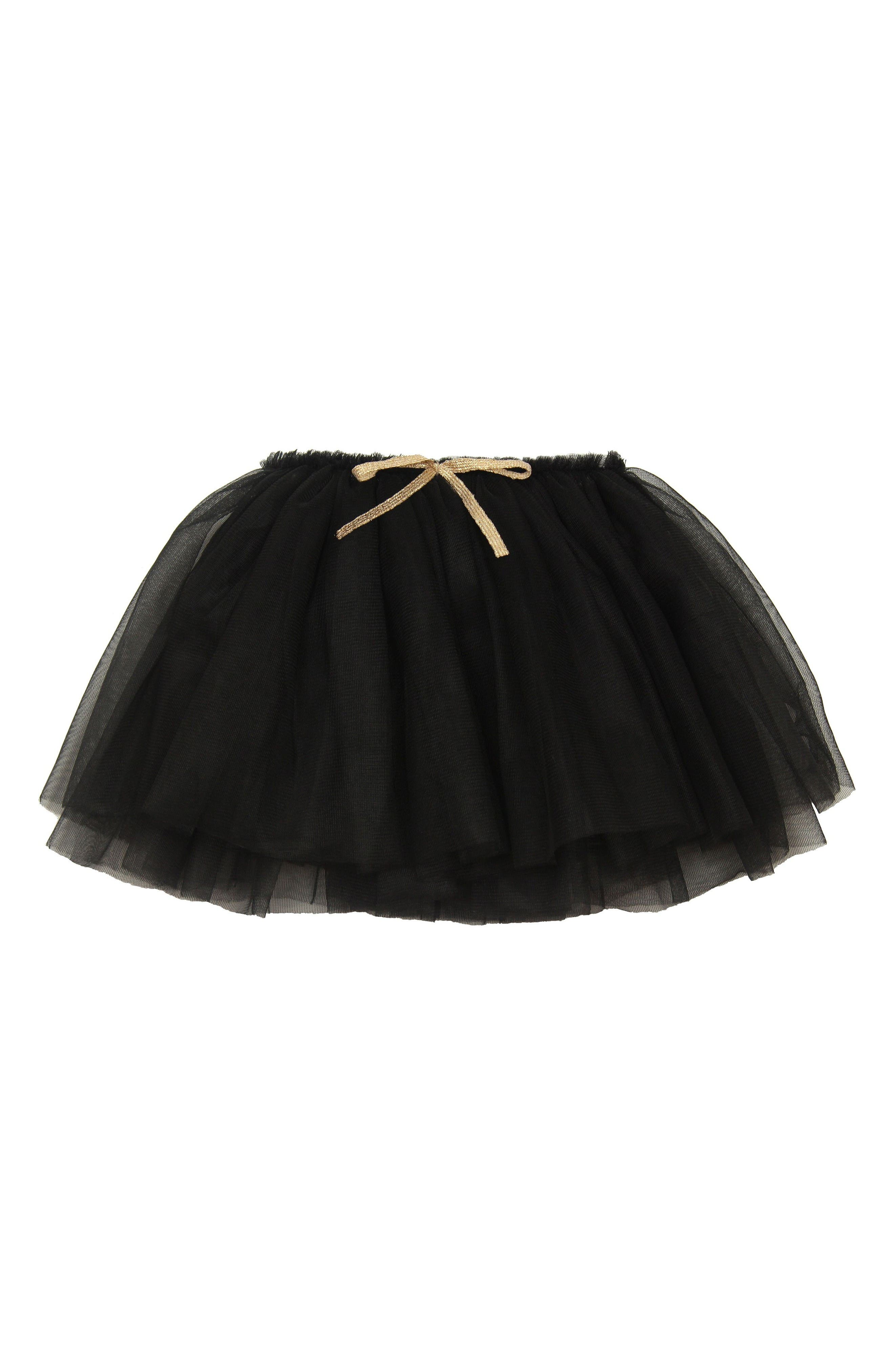 Tutu Skirt,                         Main,                         color, Black