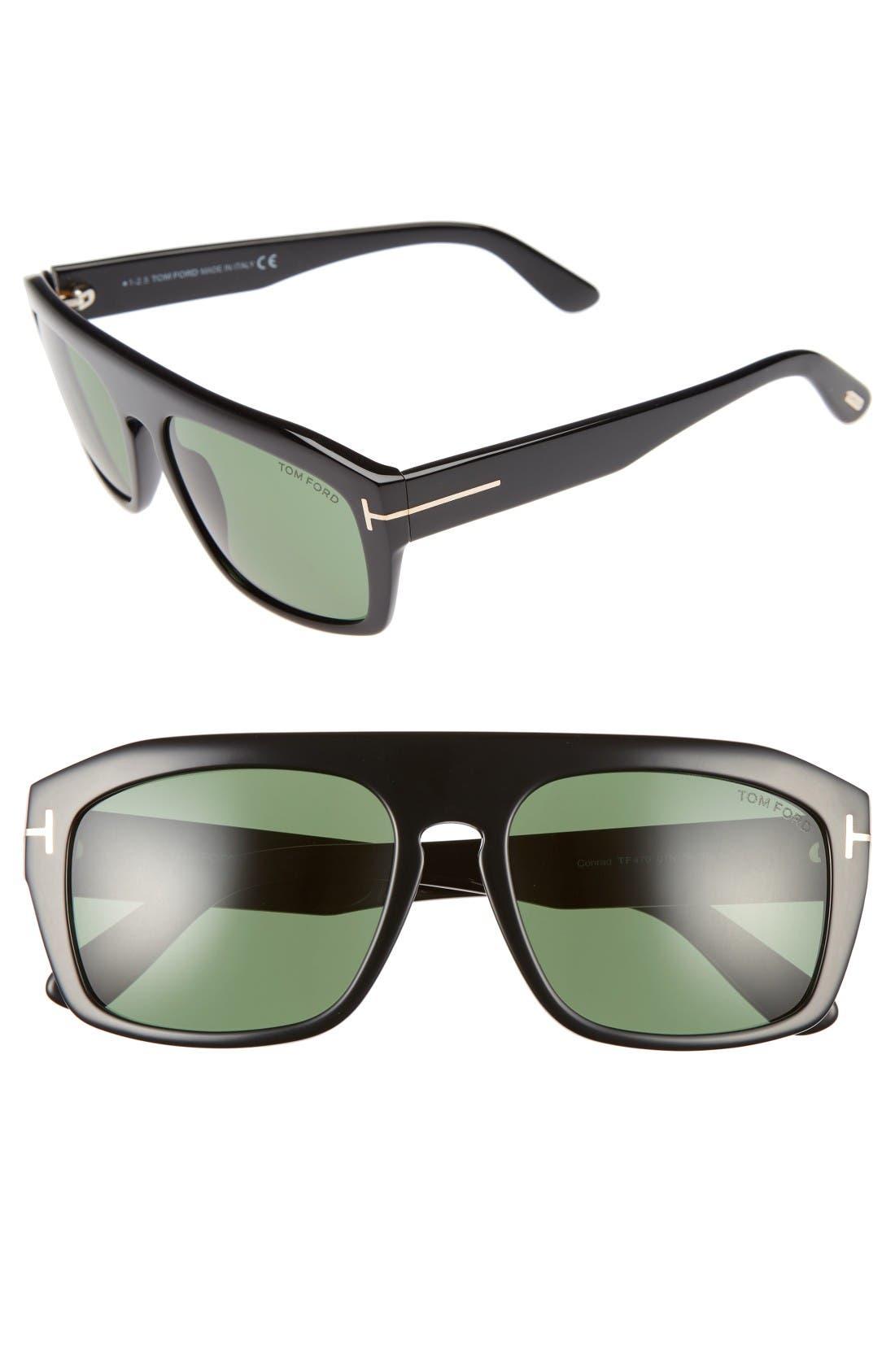 TOM FORD Conrad 58mm Sunglasses