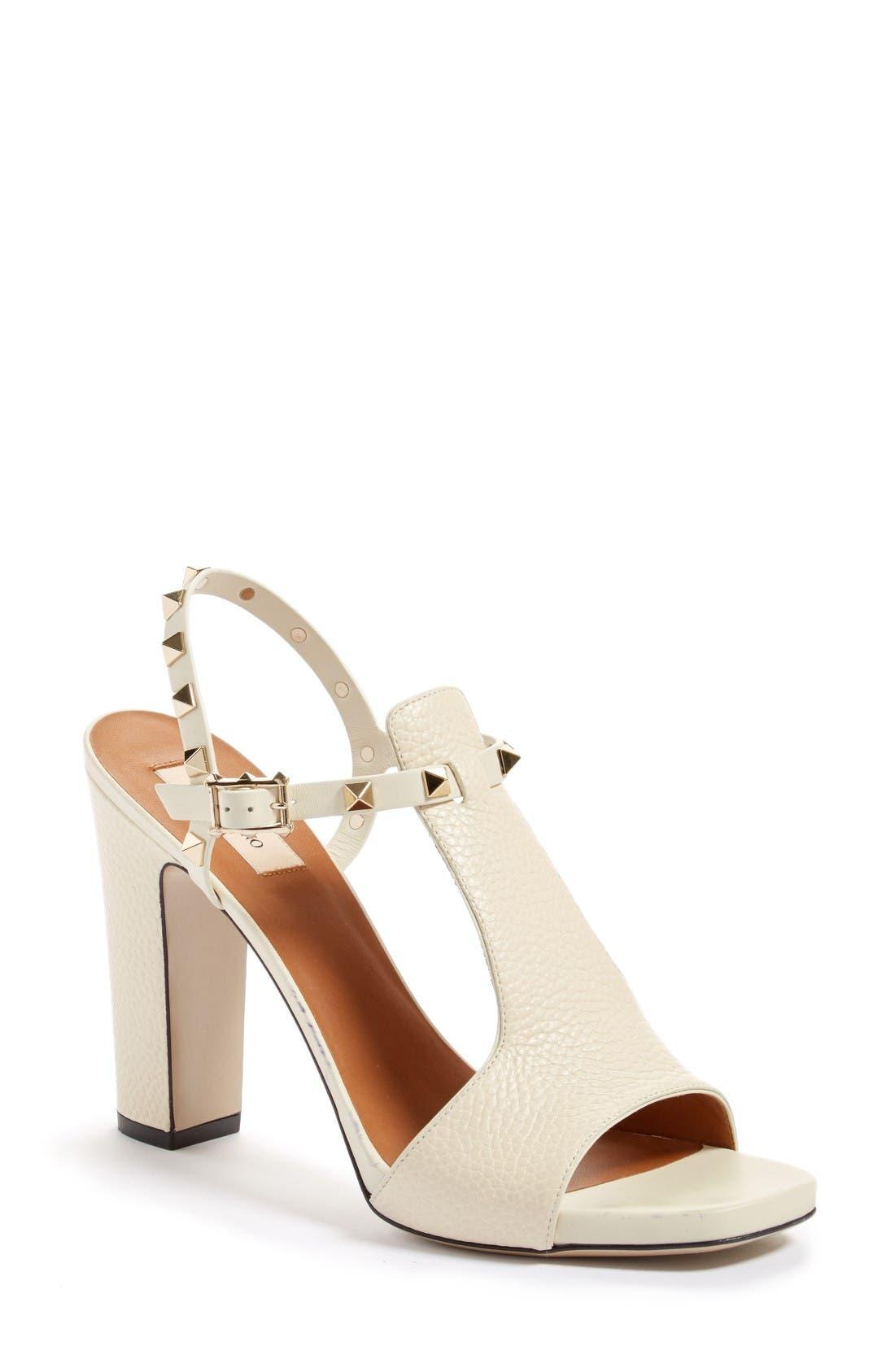 VALENTINO GARAVANI Rockstud T-Strap Sandal (Women)