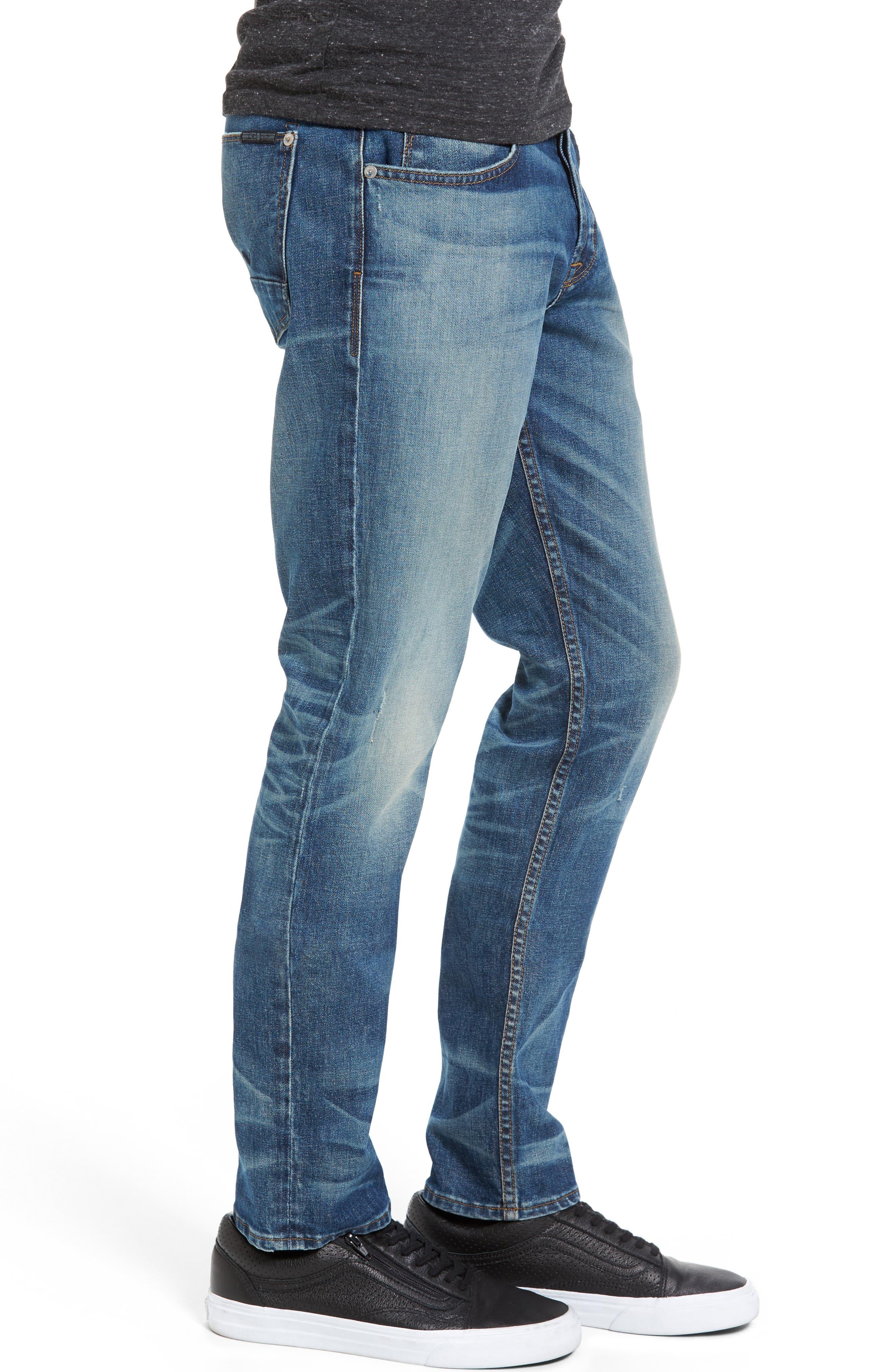 Alternate Image 3  - Hudson Jeans Blake Slim Fit Jeans (Withstand)