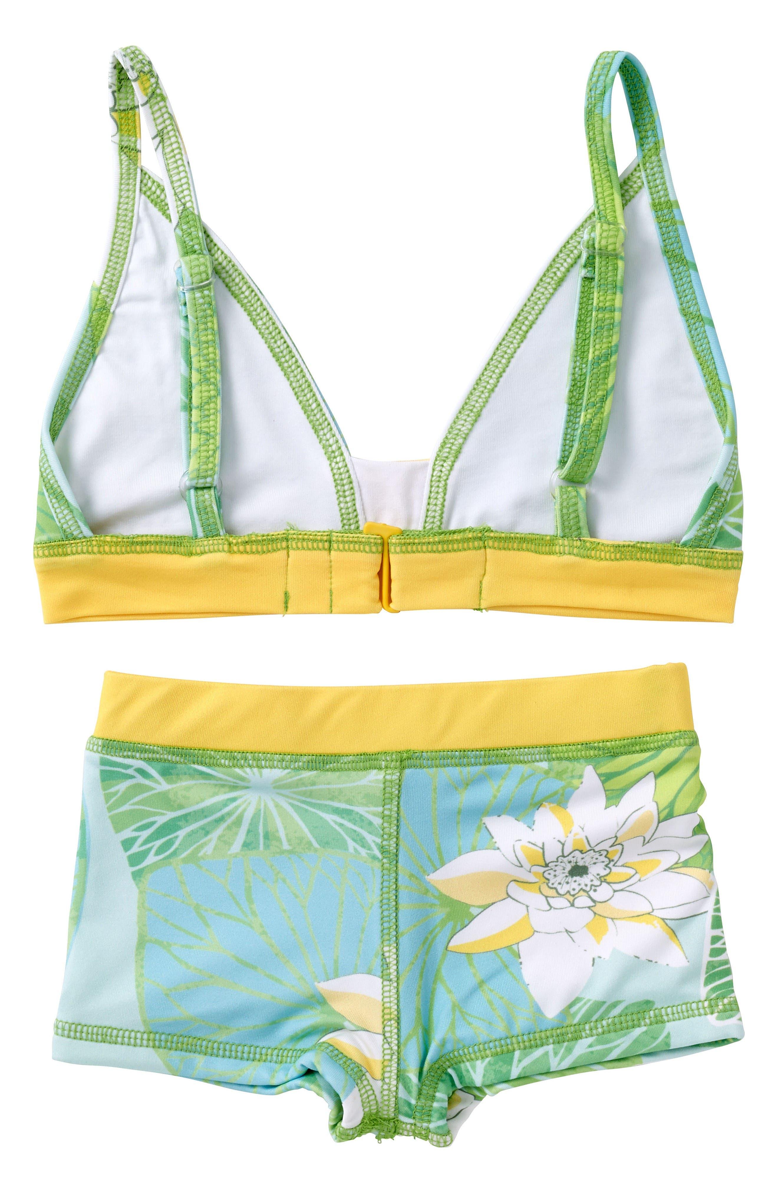 Alternate Image 3  - Masasla Baby Two-Piece Swimsuit (Toddler Girls, Little Girls & Big Girls)