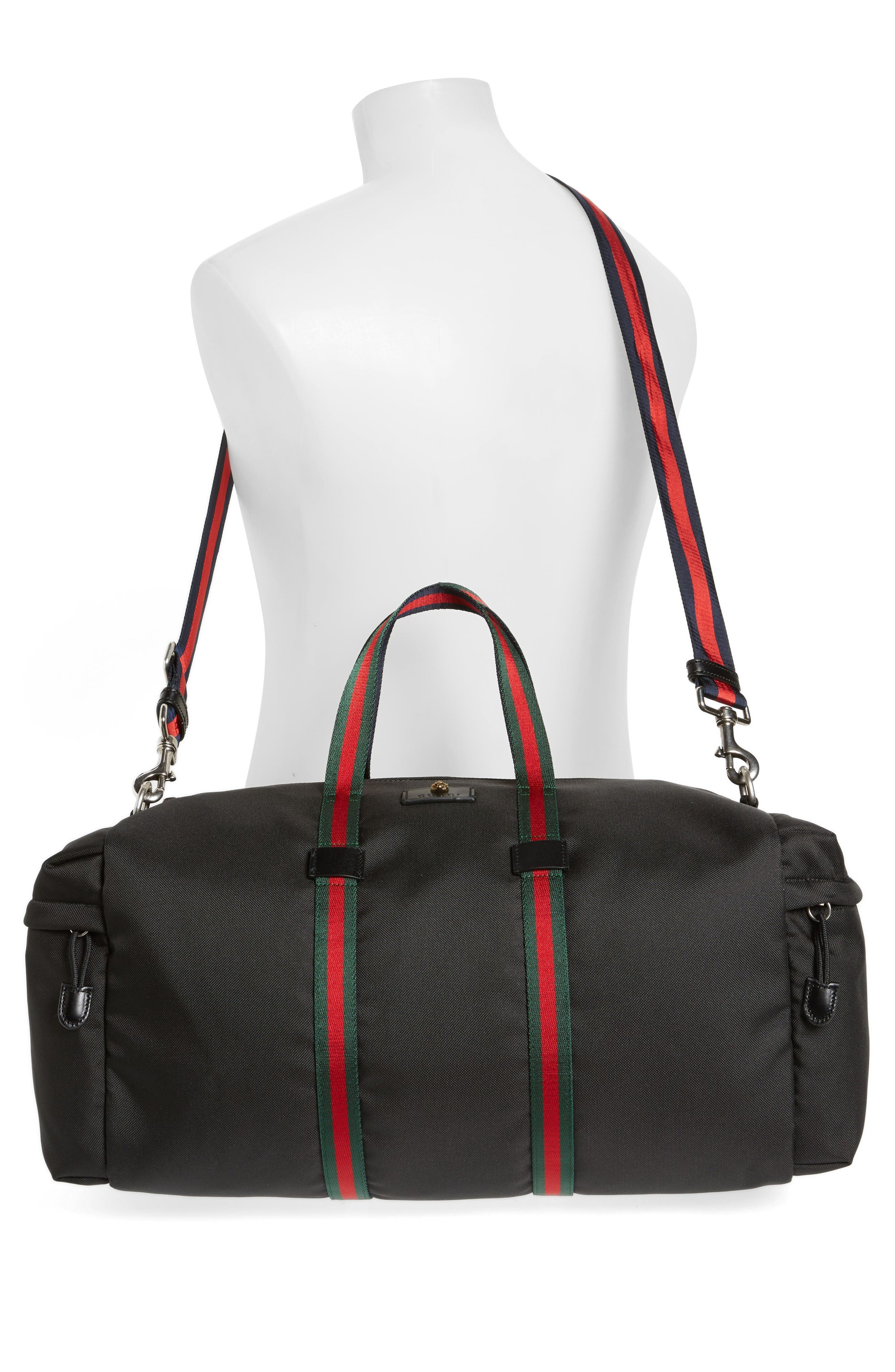 Alternate Image 2  - Gucci Techpack Canvas Duffle Bag