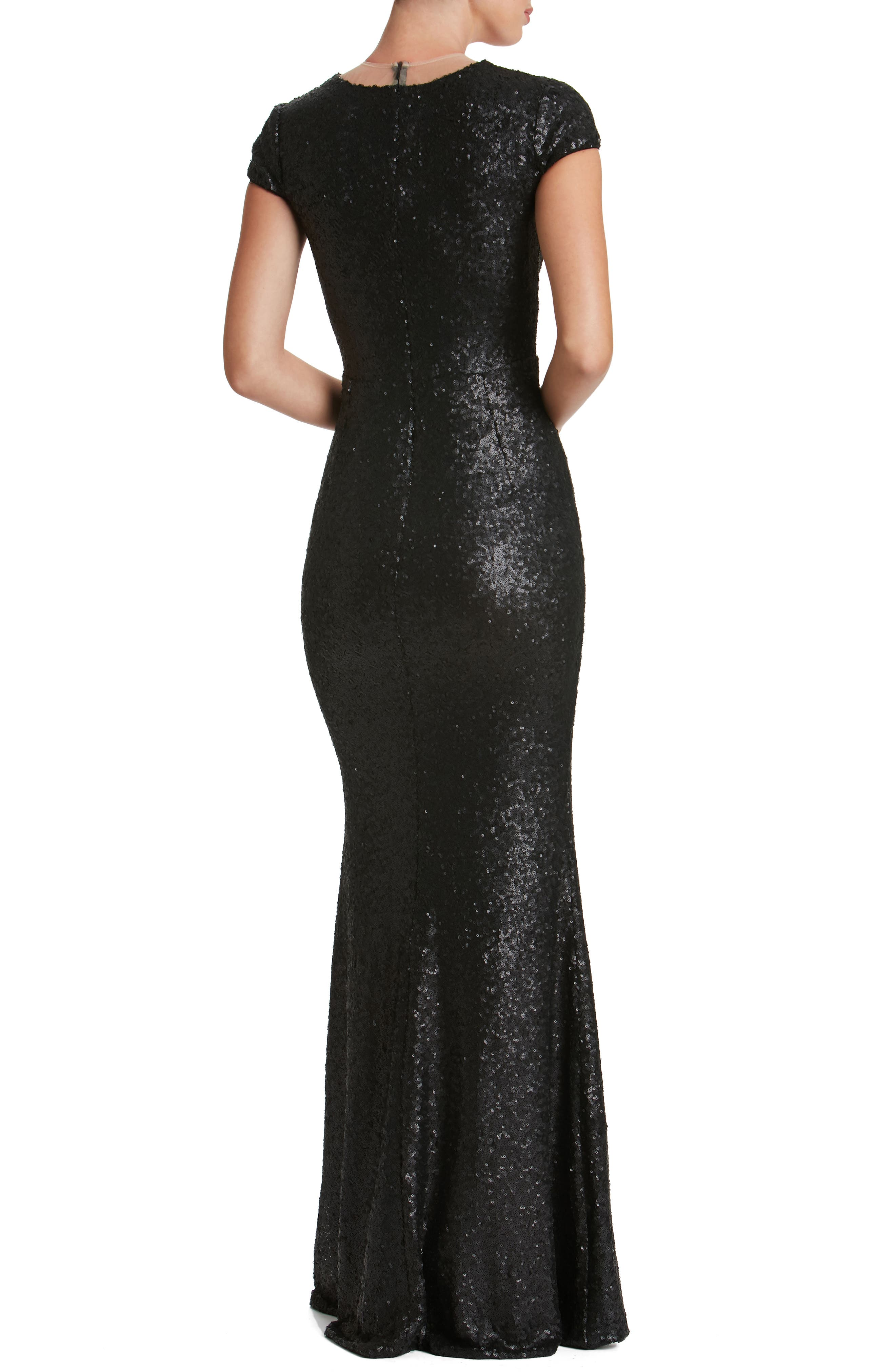 Alternate Image 3  - Dress the Population Michelle Sequin Gown (Nordstrom Exclusive)