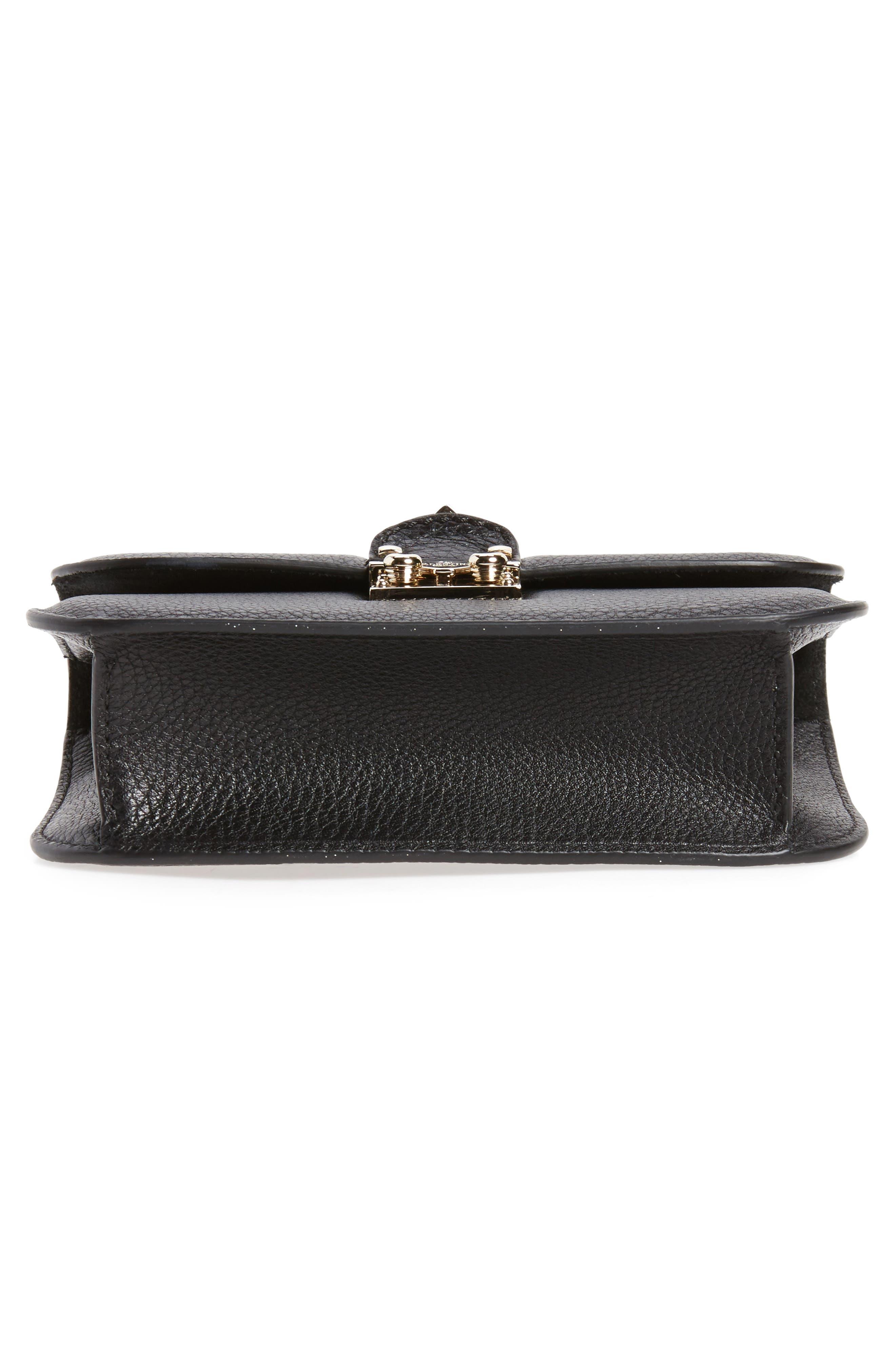 Alternate Image 6  - VALENTINO GARAVANI Rockstud - Small Lock Leather Crossbody Bag