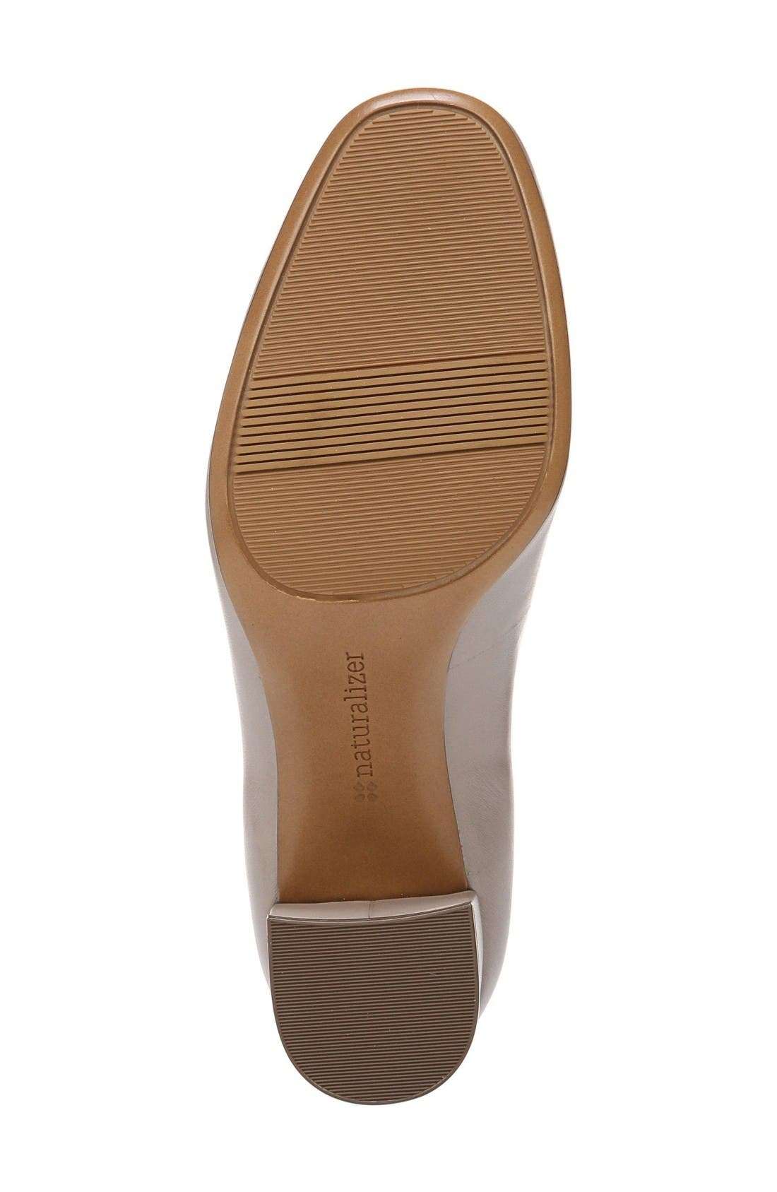 Whitney Pump,                             Alternate thumbnail 4, color,                             Dove Leather