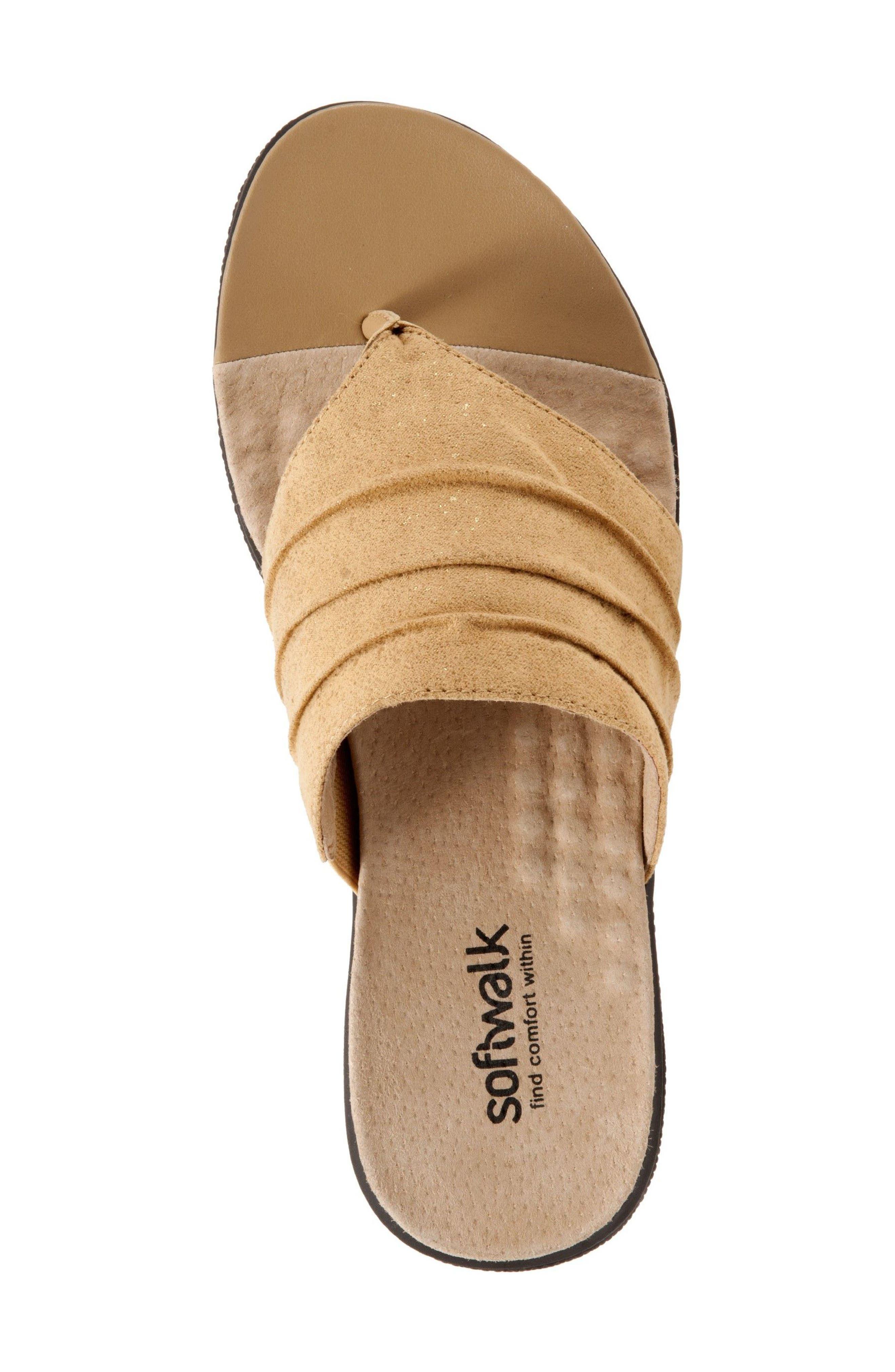 Alternate Image 3  - SoftWalk® 'Toma' Thong Sandal (Women)