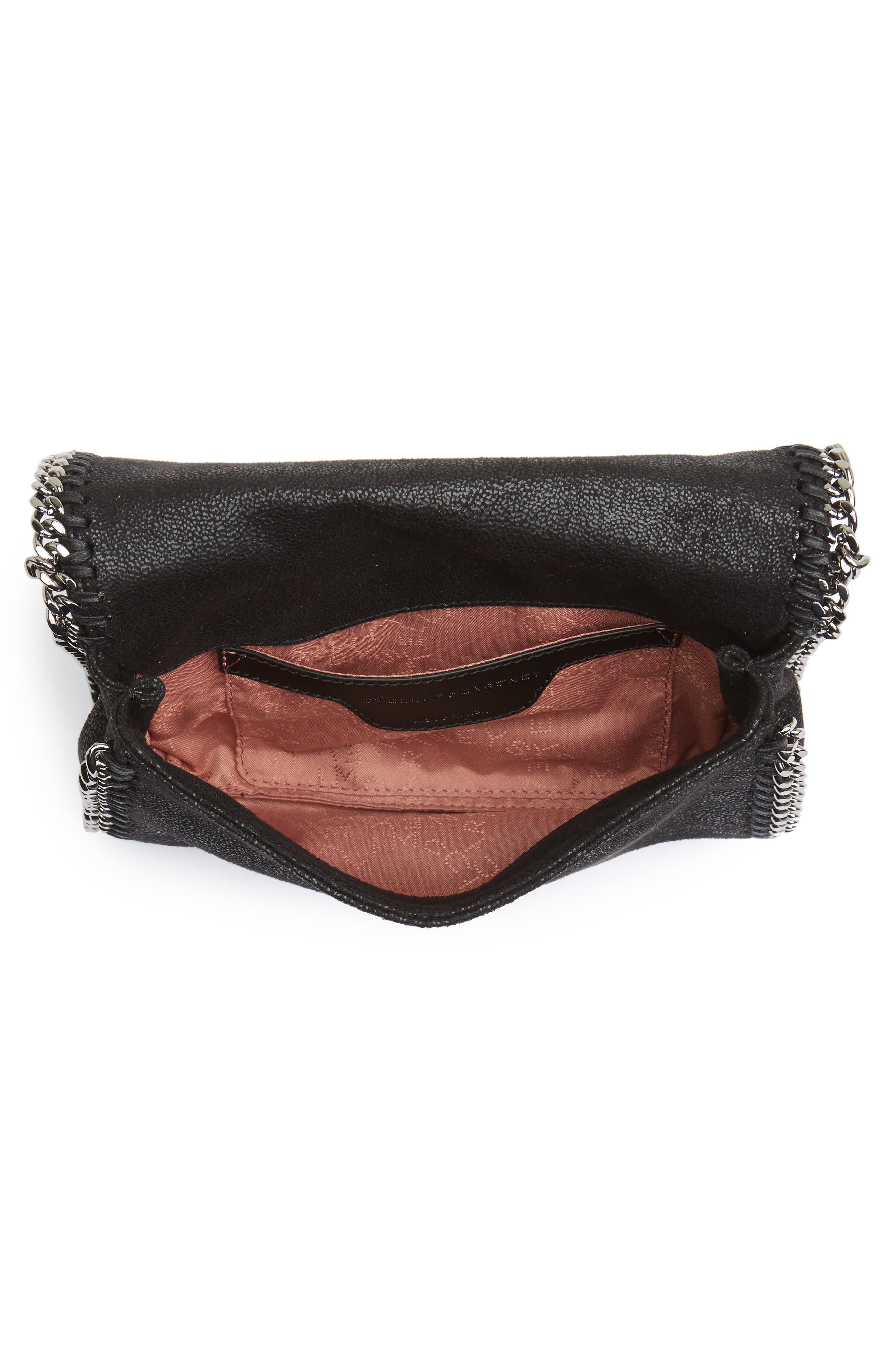 Alternate Image 4  - Stella McCartney Small Fallabella Crystal Faux Leather Crossbody Bag